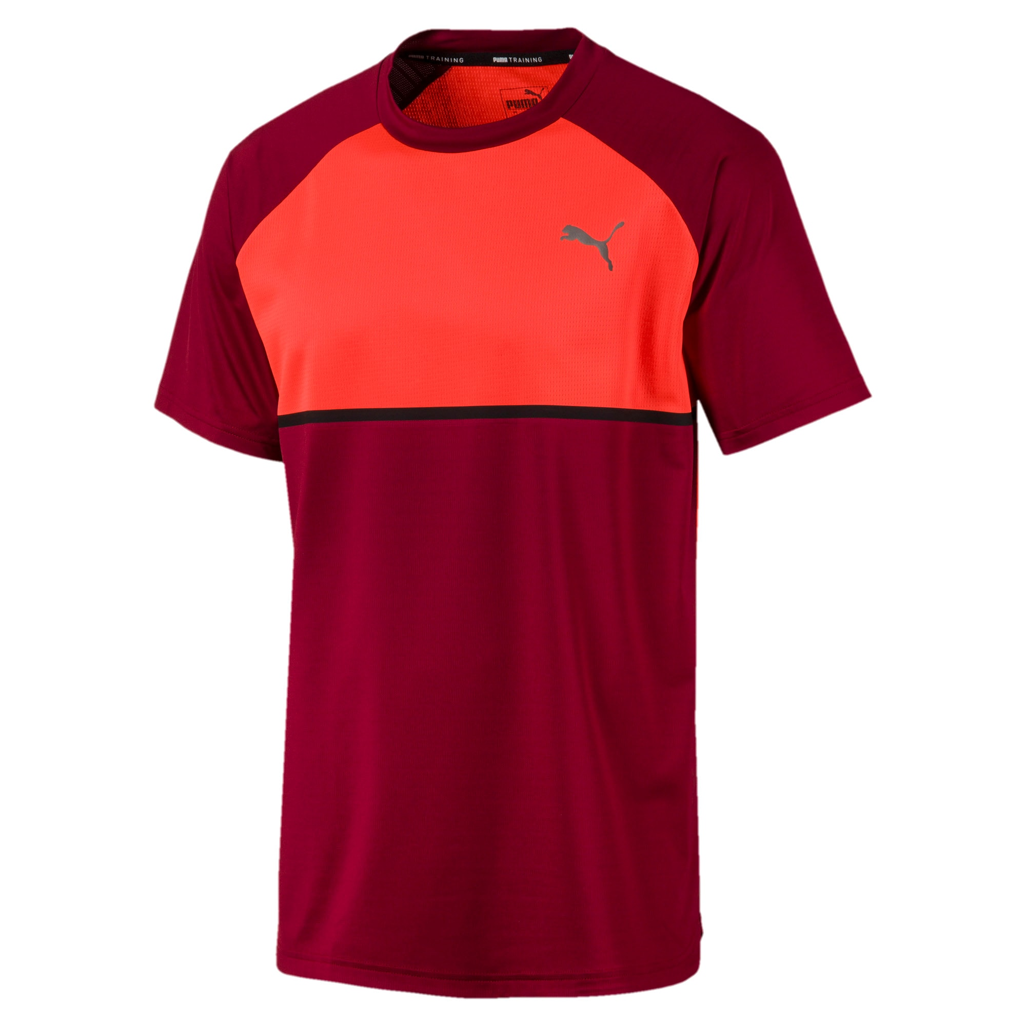 Thumbnail 4 of Power BND Men's Tee, Rhubarb-Nrgy Red, medium