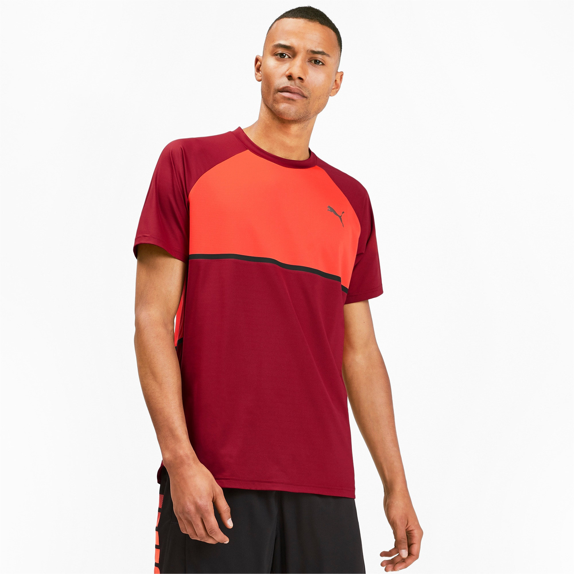 Thumbnail 1 of Power BND Men's Tee, Rhubarb-Nrgy Red, medium