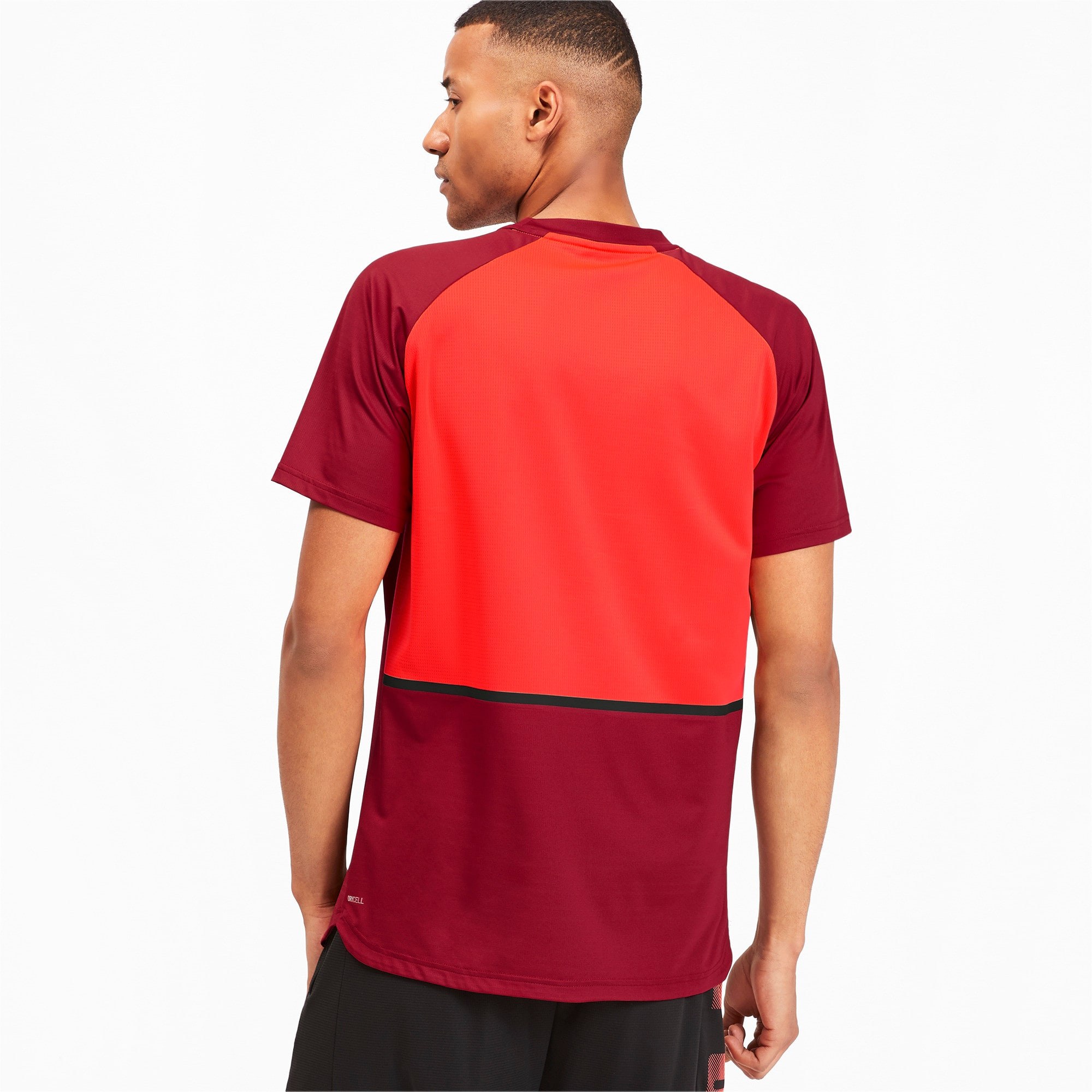 Thumbnail 2 of Power BND Men's Tee, Rhubarb-Nrgy Red, medium