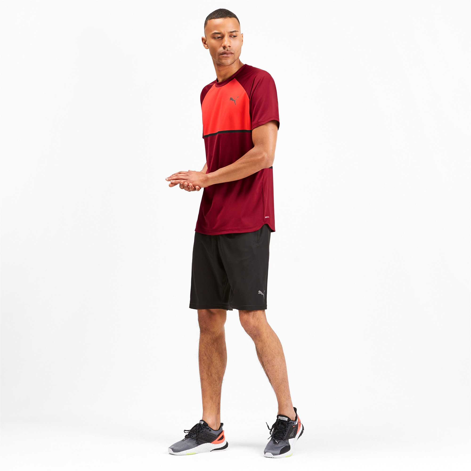 Thumbnail 3 of Power BND Men's Tee, Rhubarb-Nrgy Red, medium