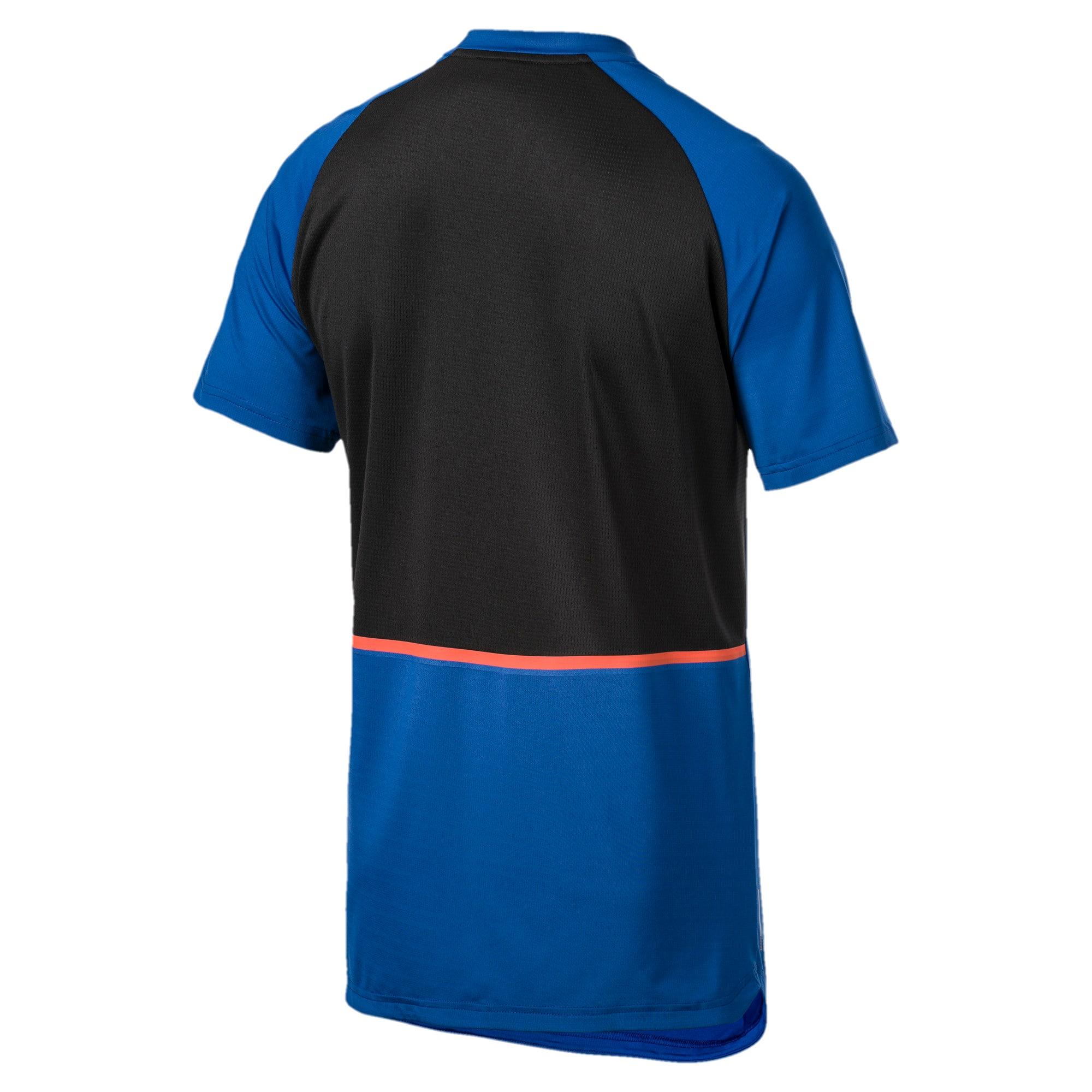Thumbnail 5 of Power BND T-shirt voor heren, Galaxy Blue-Puma Black, medium
