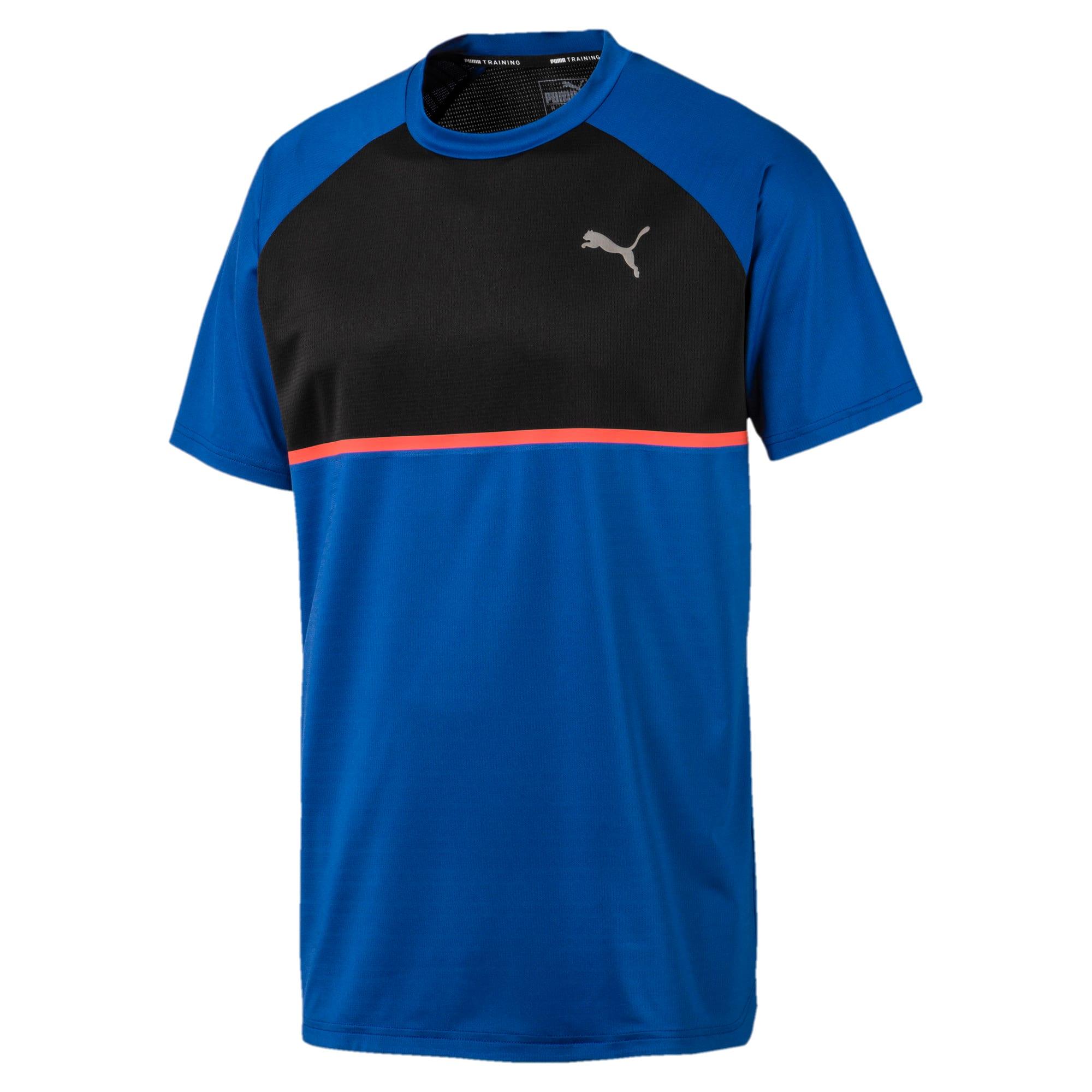 Thumbnail 4 of Power BND T-shirt voor heren, Galaxy Blue-Puma Black, medium