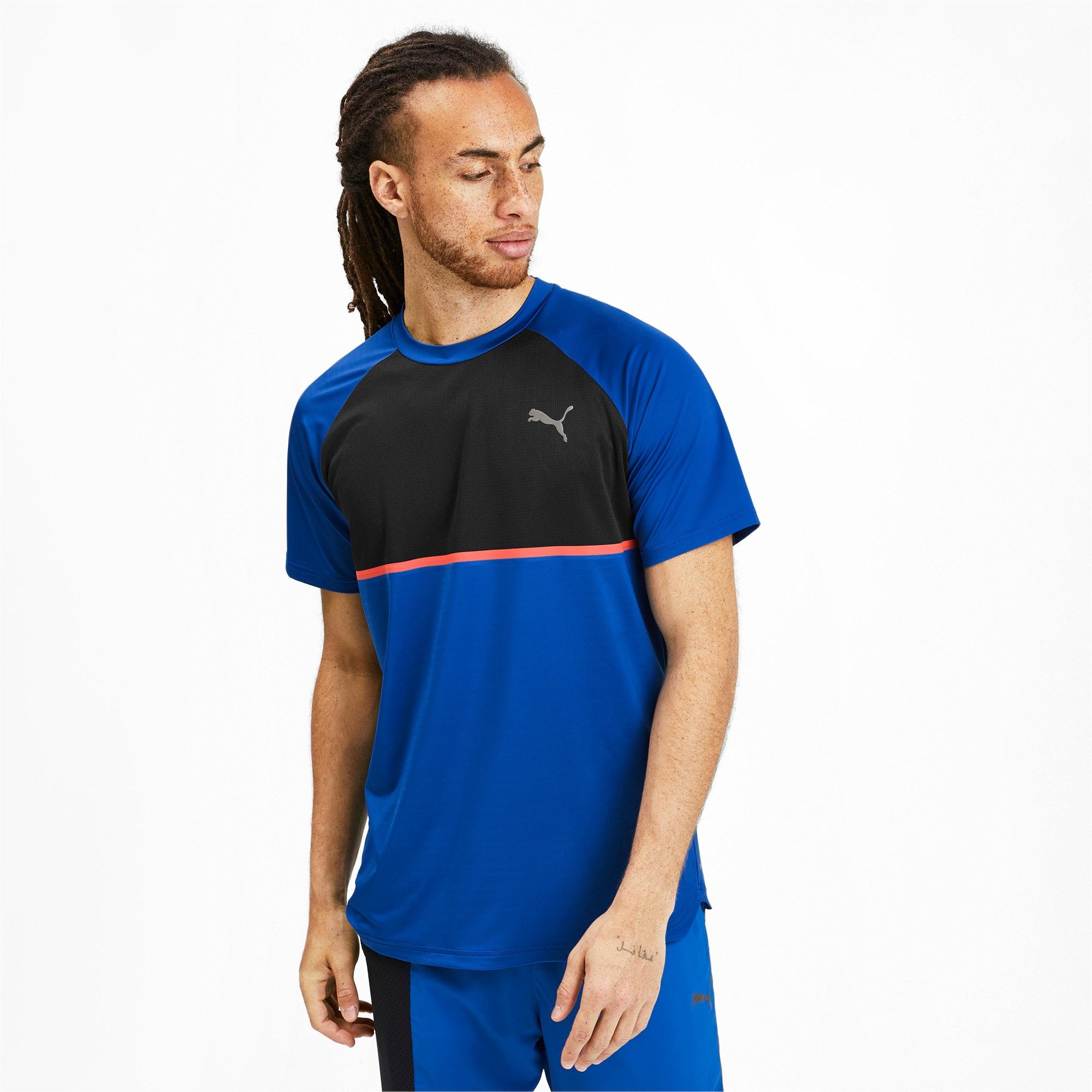 Thumbnail 1 of Power BND T-shirt voor heren, Galaxy Blue-Puma Black, medium