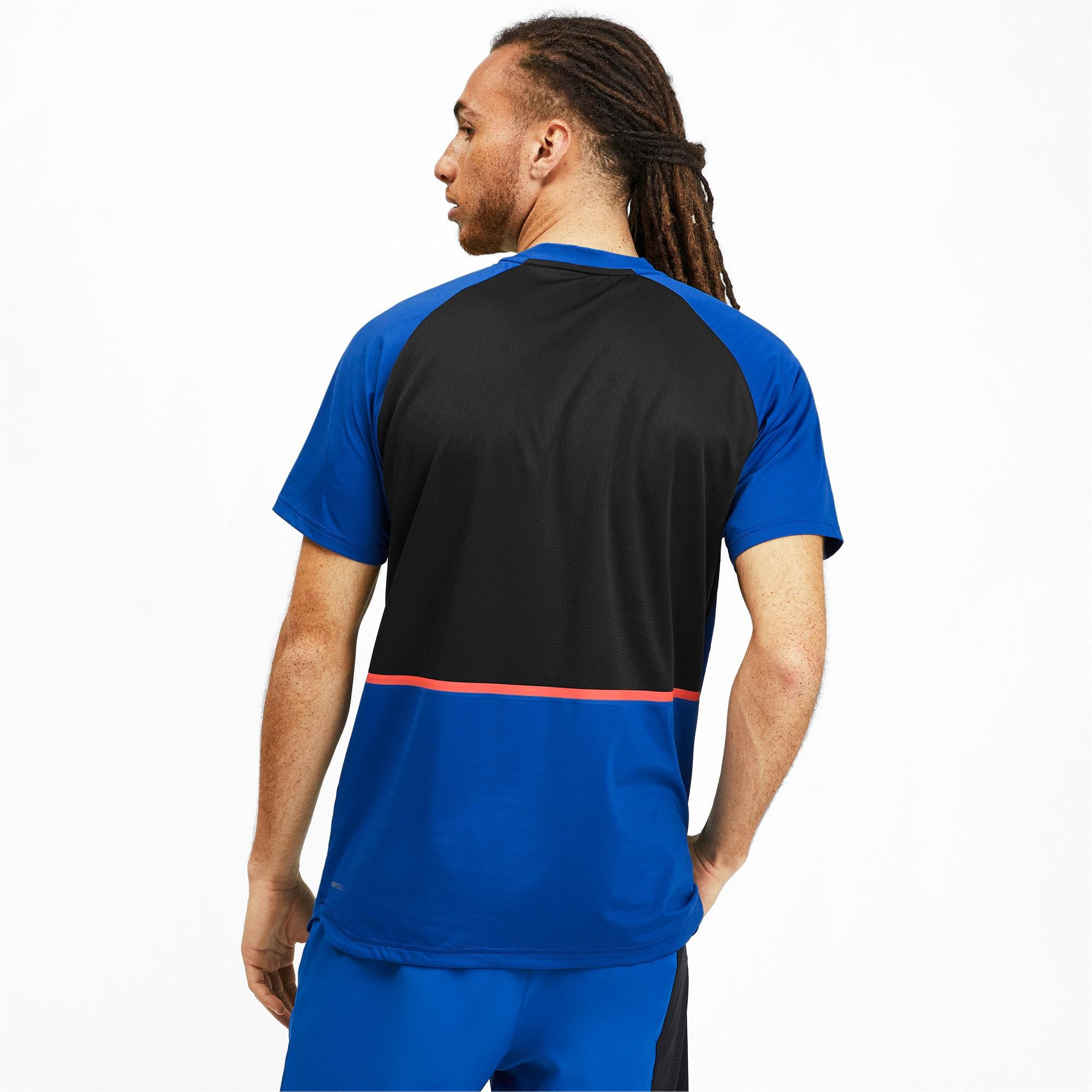Thumbnail 2 of Power BND T-shirt voor heren, Galaxy Blue-Puma Black, medium