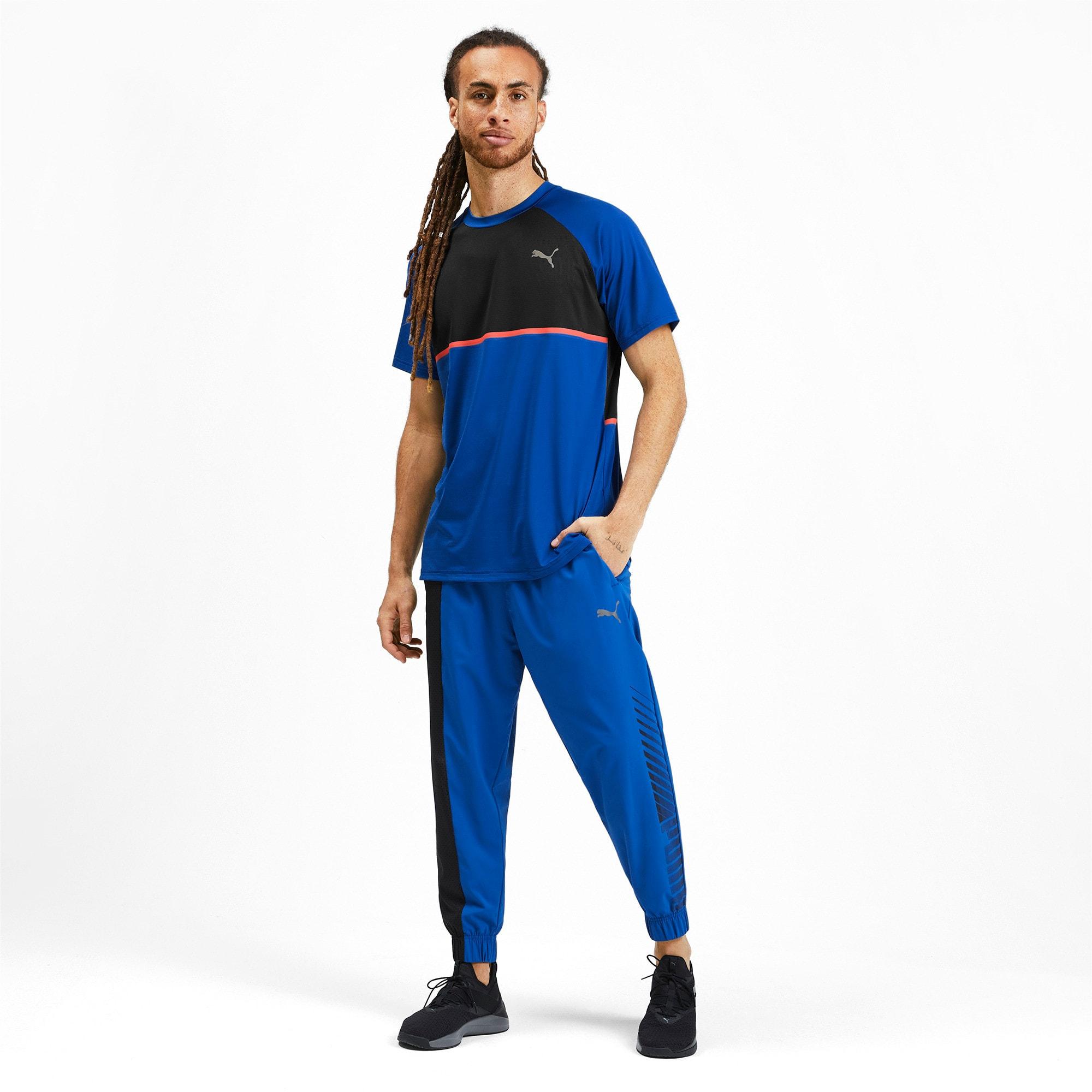 Thumbnail 3 of Power BND T-shirt voor heren, Galaxy Blue-Puma Black, medium