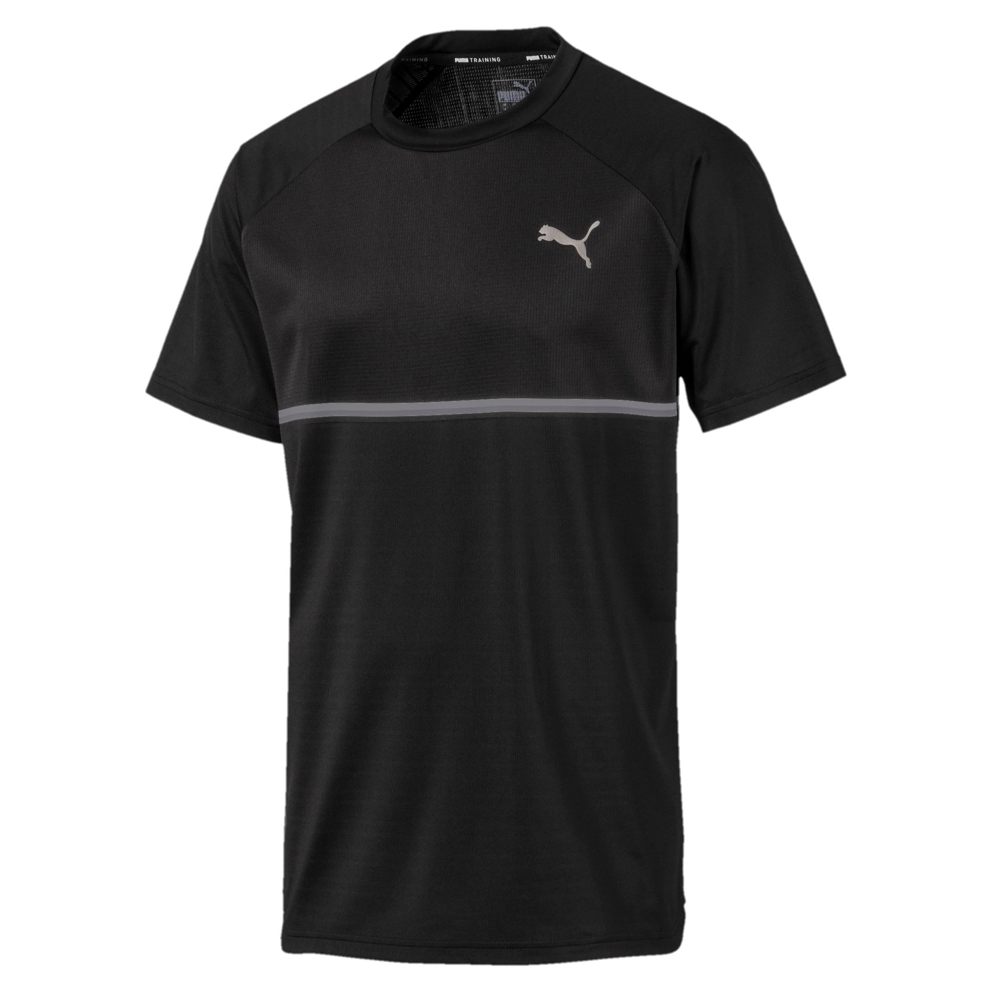 Thumbnail 4 of Power BND T-shirt voor heren, Puma Black, medium