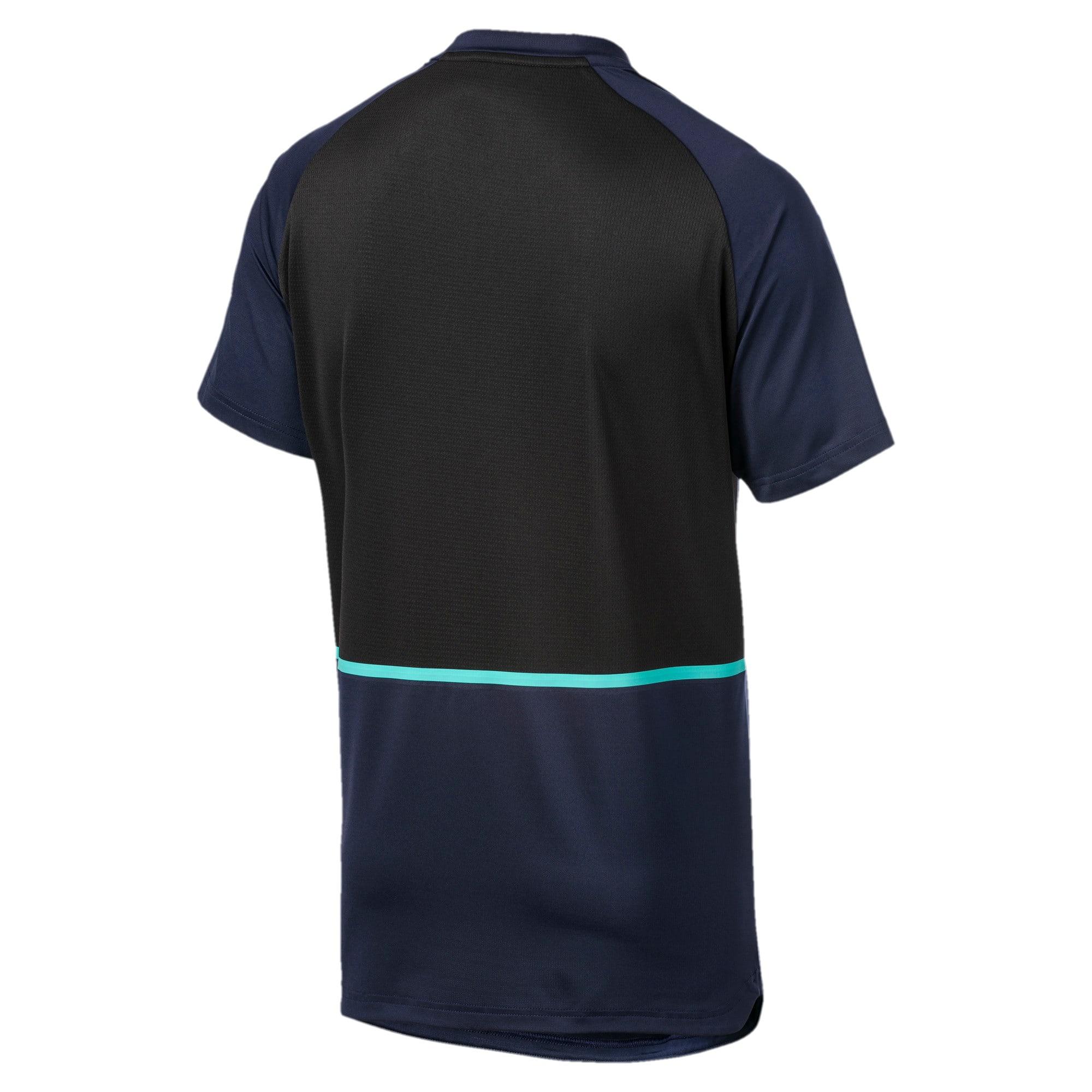 Thumbnail 5 of Power BND T-shirt voor heren, Peacoat-Puma Black, medium