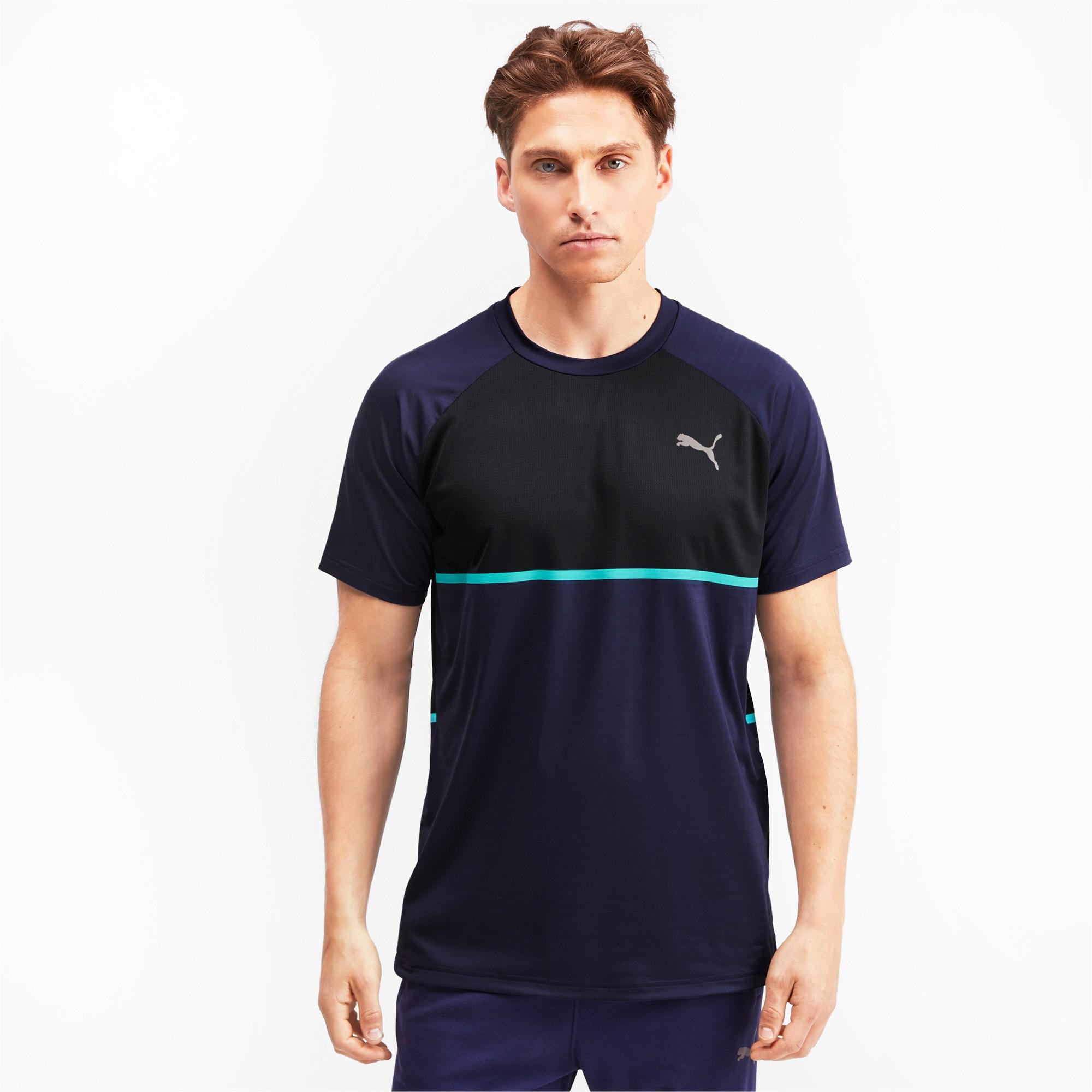 Thumbnail 1 of Power BND T-shirt voor heren, Peacoat-Puma Black, medium