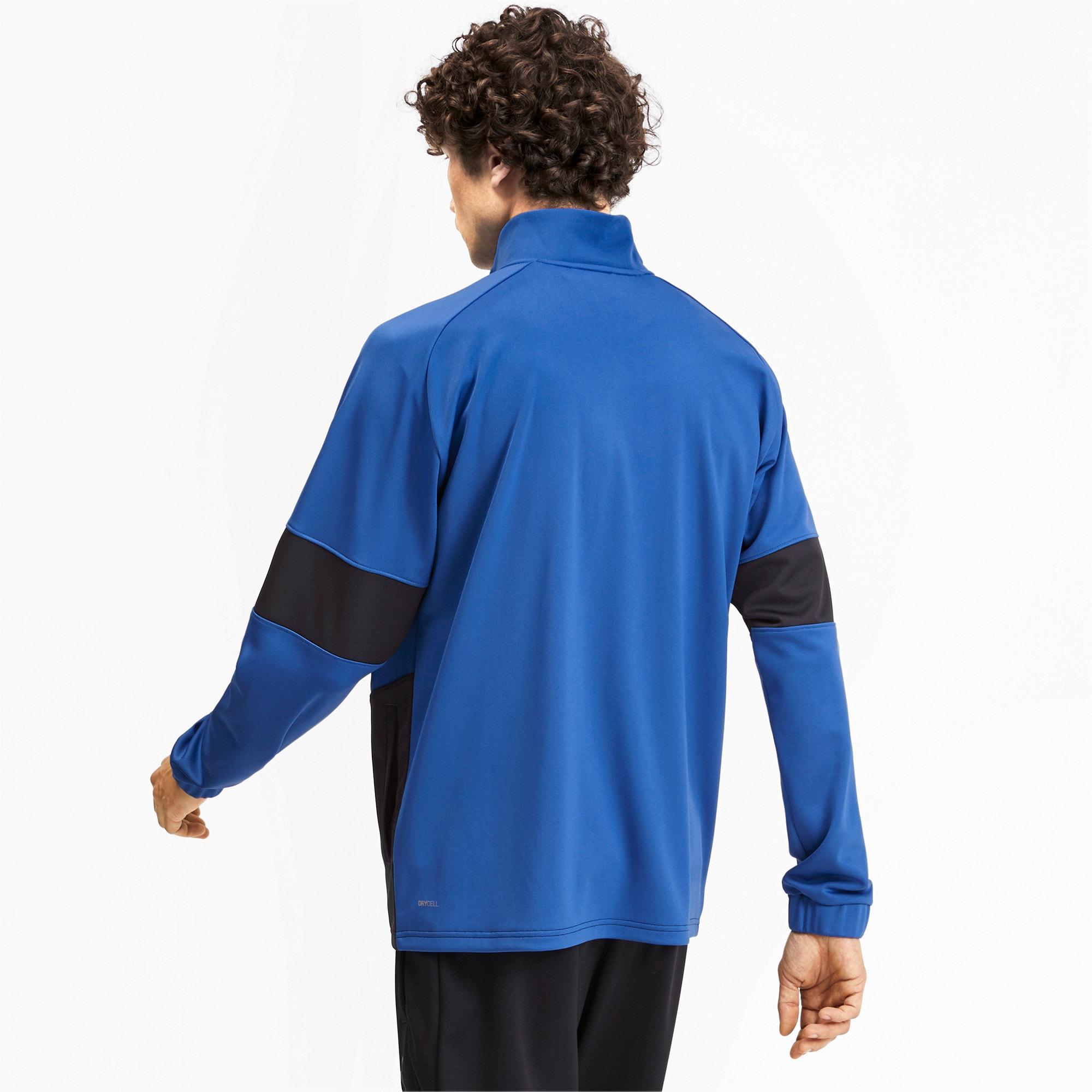 Thumbnail 3 of PUMA Blaster Men's Jacket, Galaxy Blue-Puma Black, medium