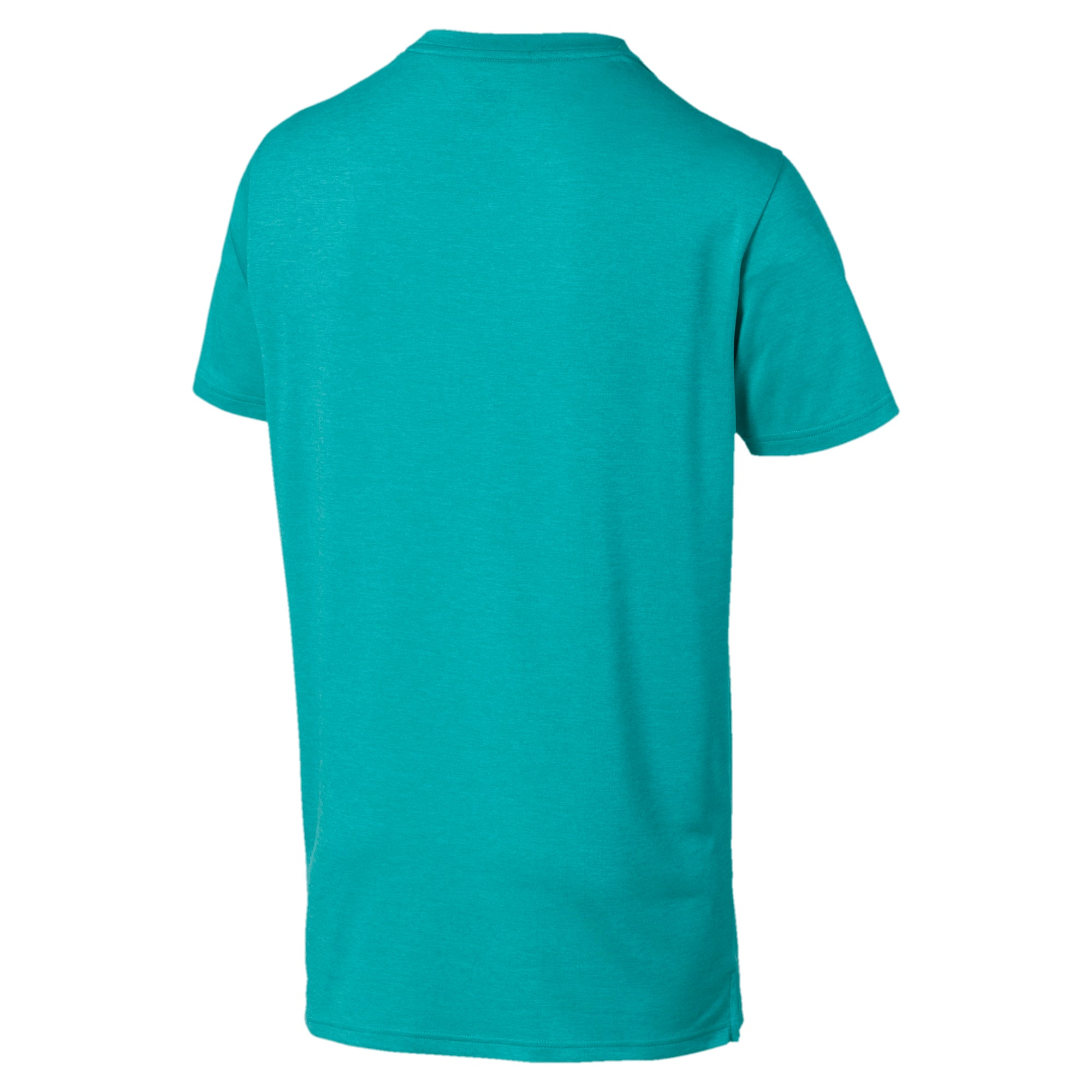 Thumbnail 5 of Heather Cat Herren Training T-Shirt, Blue Turquoise Heather, medium
