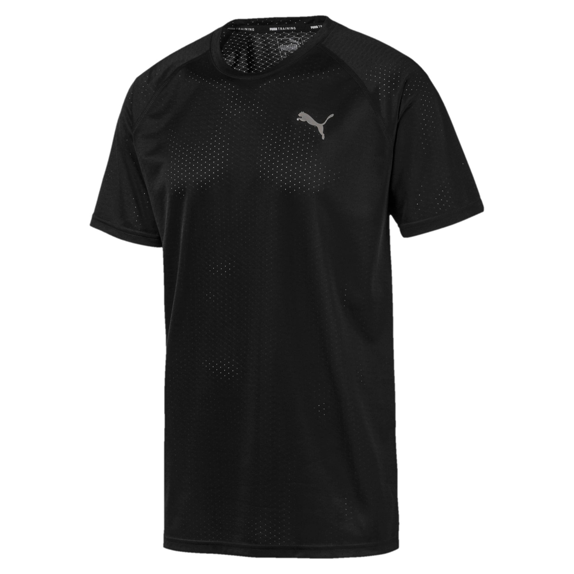 Thumbnail 4 of Tech Herren Training T-Shirt, Puma Black, medium