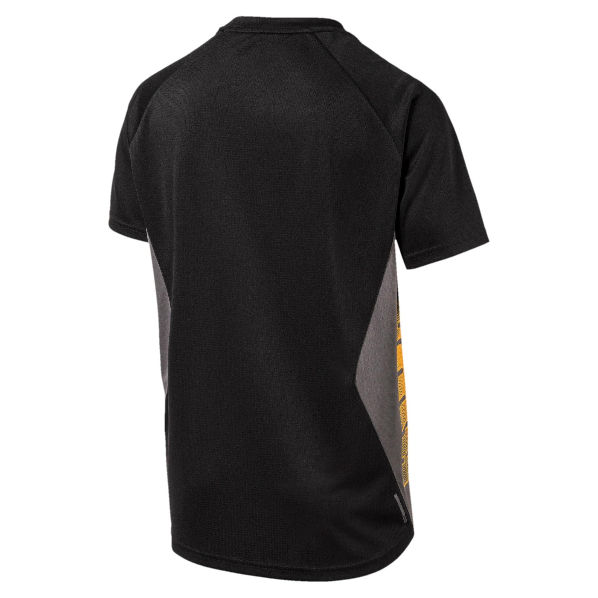 Thumbnail 5 van Collective Loud T-shirt voor mannen, CASTLEROCK-Puma Black, medium