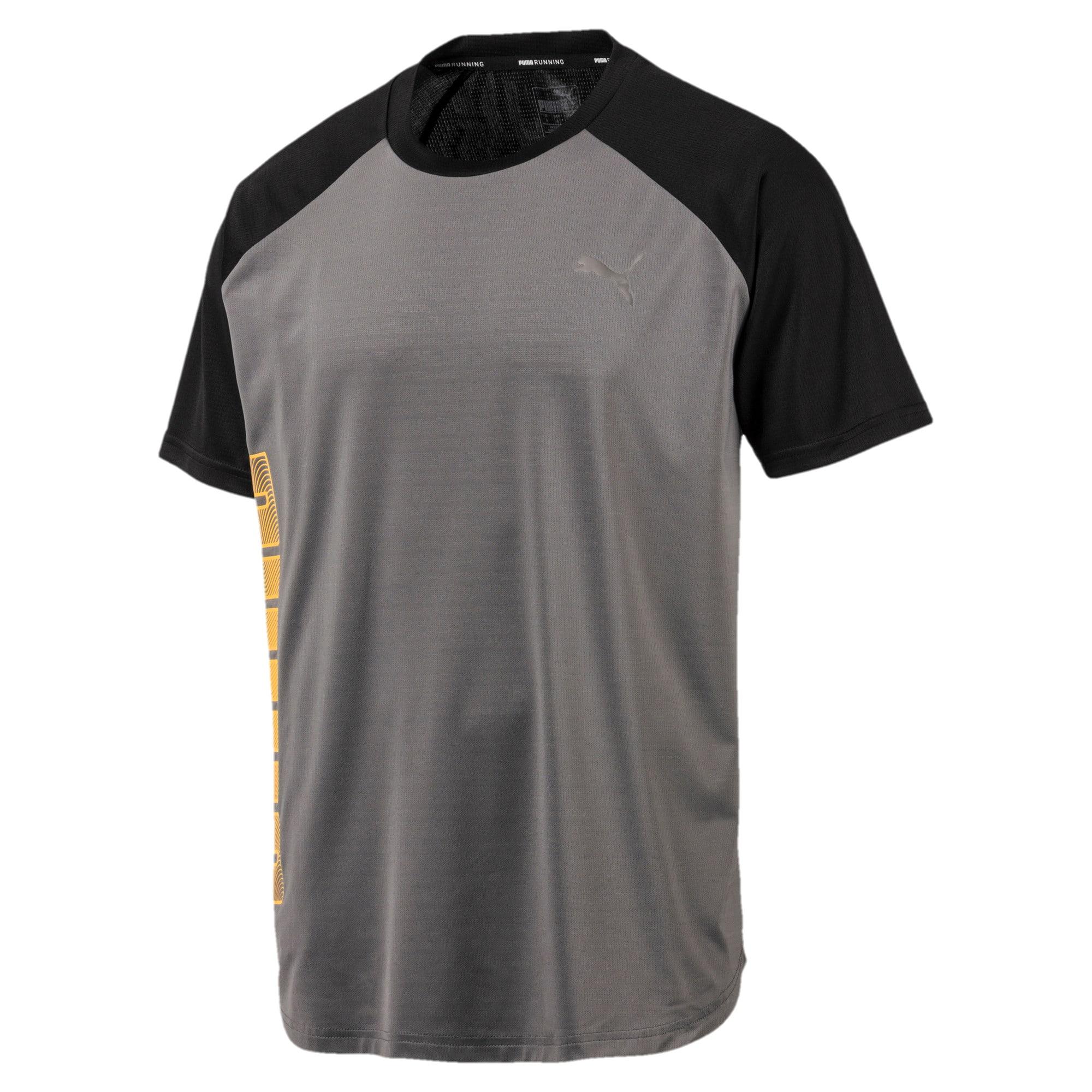 Thumbnail 4 van Collective Loud T-shirt voor mannen, CASTLEROCK-Puma Black, medium