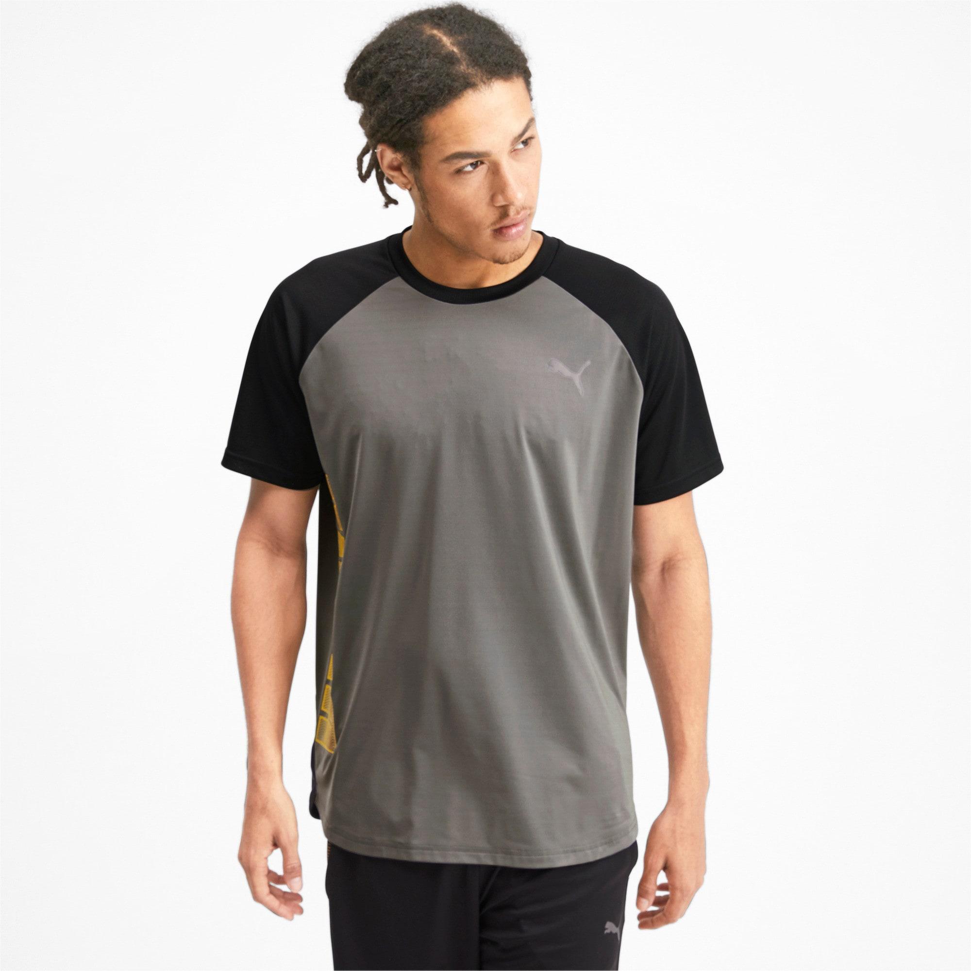 Thumbnail 1 van Collective Loud T-shirt voor mannen, CASTLEROCK-Puma Black, medium