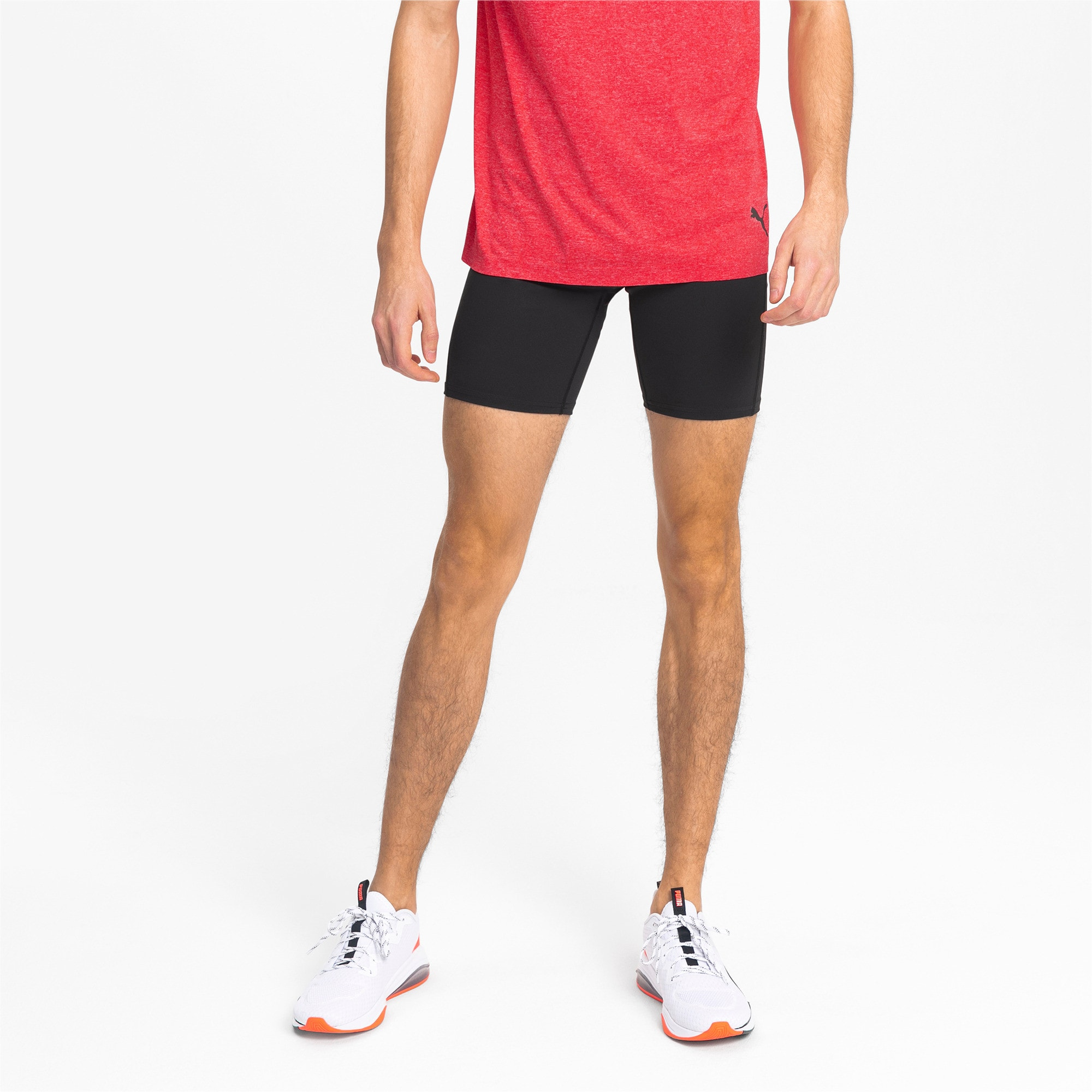 Thumbnail 1 of IGNITE Tight Men's Running Shorts, Puma Black, medium