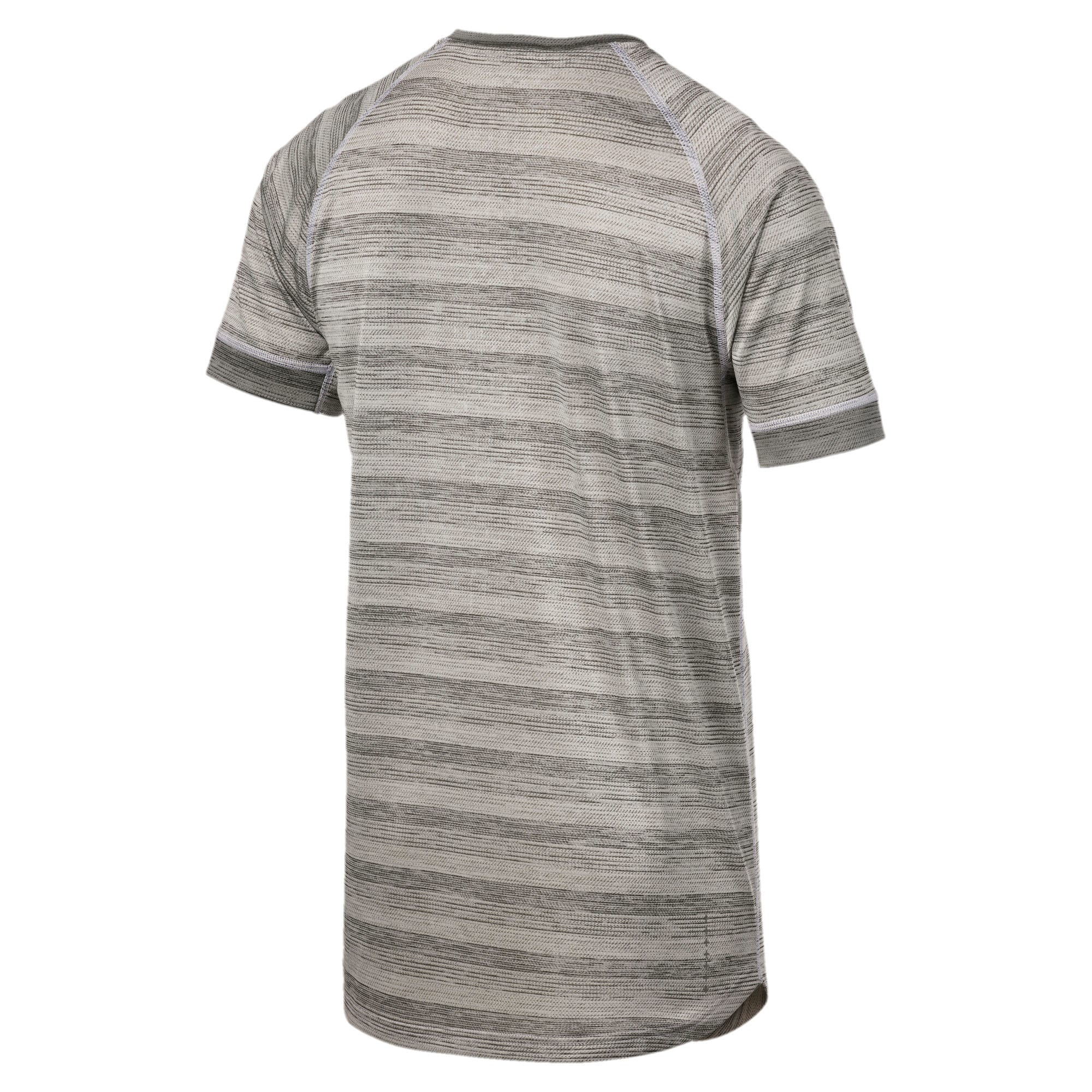 Thumbnail 5 of Get Fast THERMO R+ Men's Running Tee, White Heather-Med Gray Hthr, medium-IND