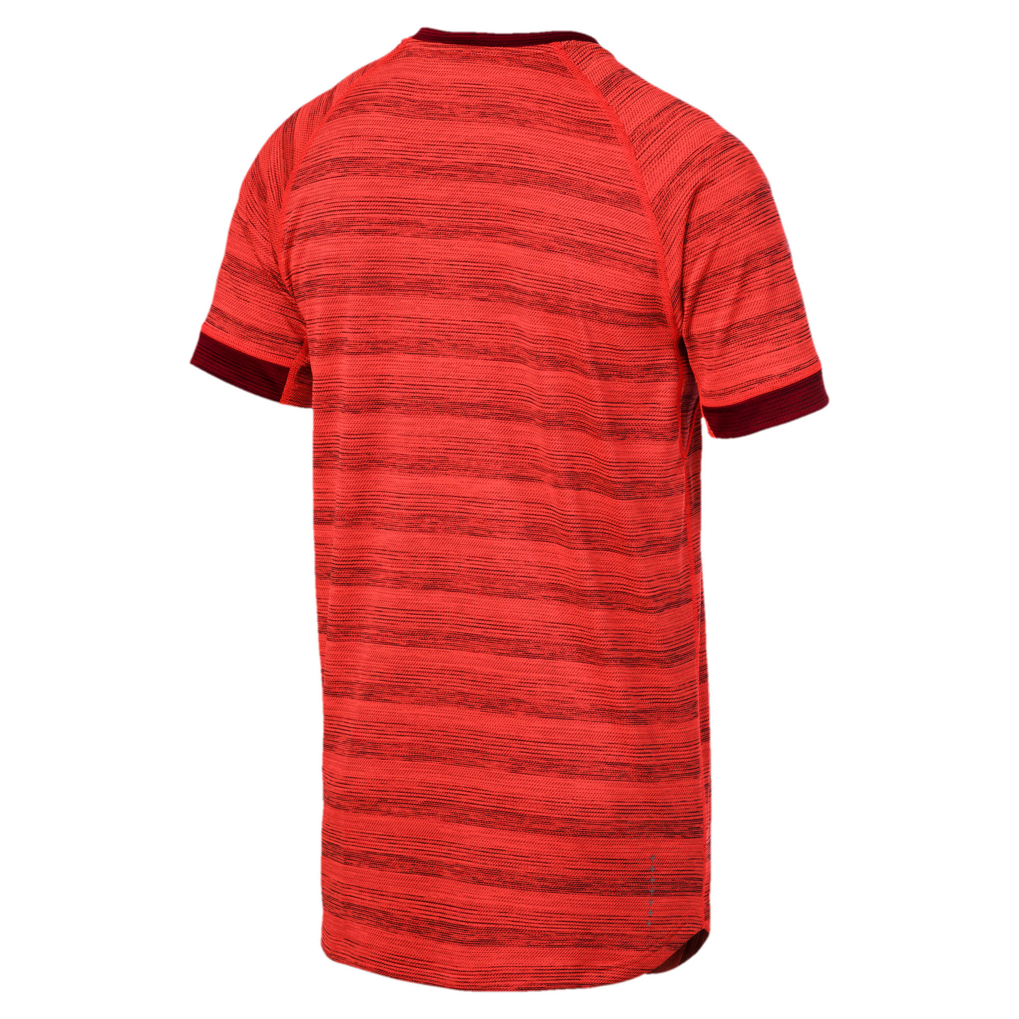 Thumbnail 5 of Get Fast THERMO R+ Men's Running Tee, Nrgy Red Htr-Rhubarb Htr, medium-IND