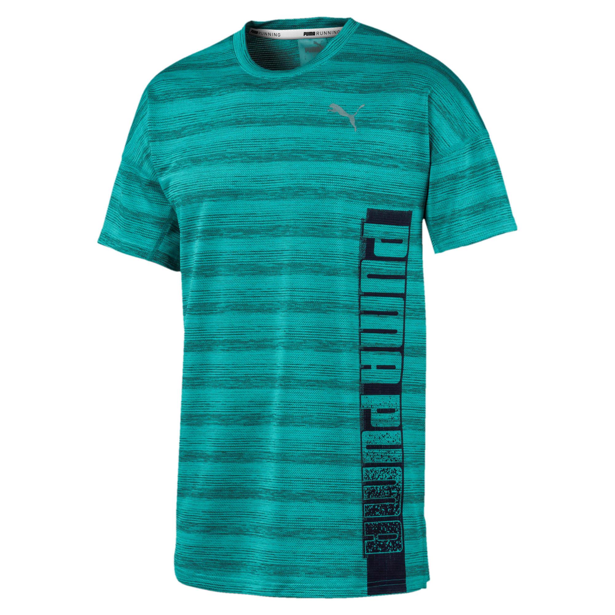 Thumbnail 4 van Gemêleerd LastLap T-shirt voor mannen, Gemêleerd blauwturquoise, medium
