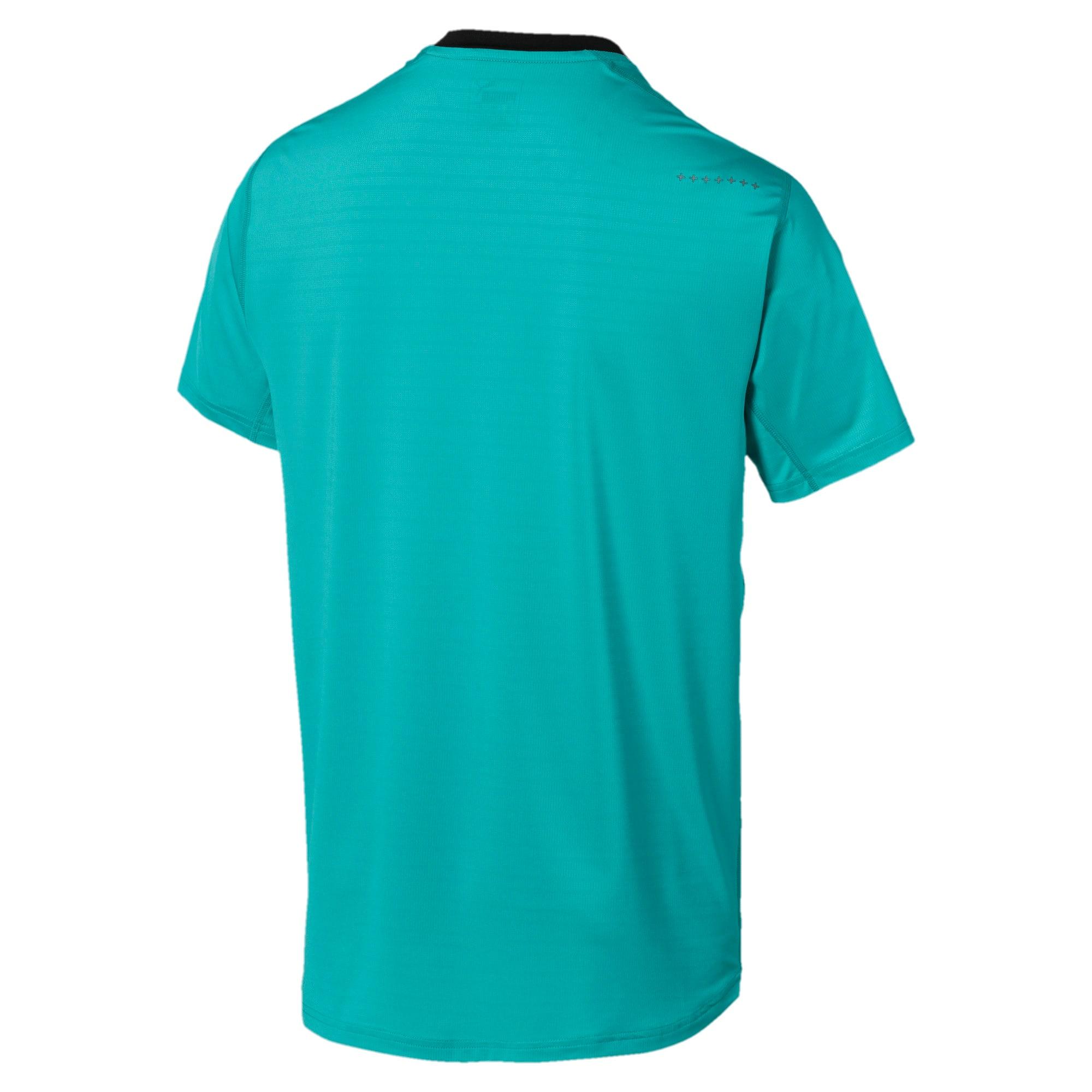 Thumbnail 5 of Get Fast Excite hardloopshirt voor heren, Blue Turquoise-Puma Black, medium