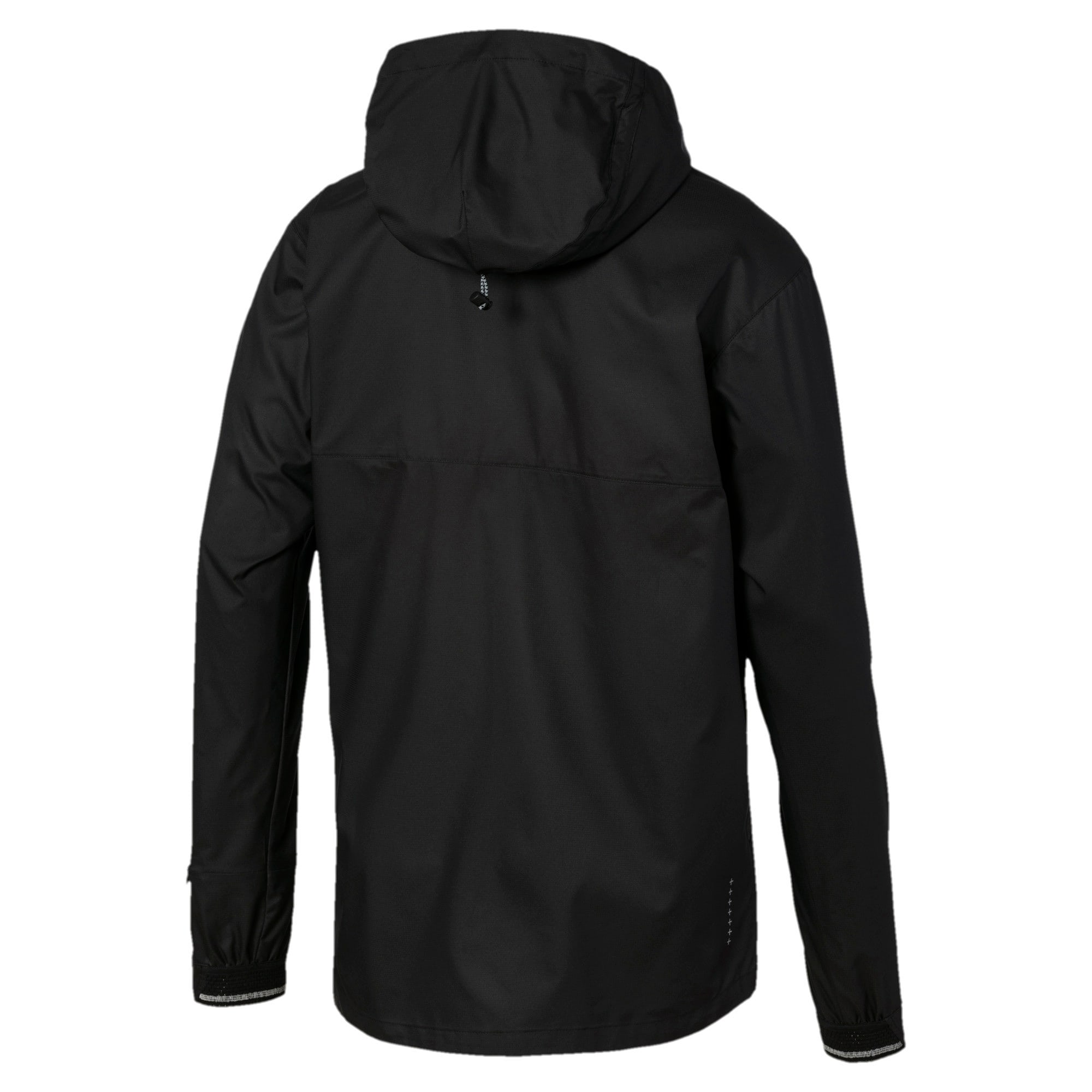 Thumbnail 5 of Last Lap VIZ Men's Running Jacket, Puma Black, medium