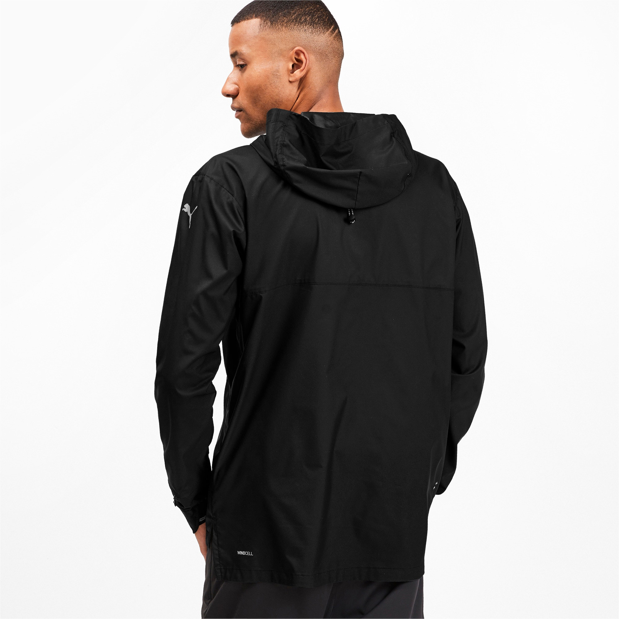 Thumbnail 2 of Last Lap VIZ Men's Running Jacket, Puma Black, medium