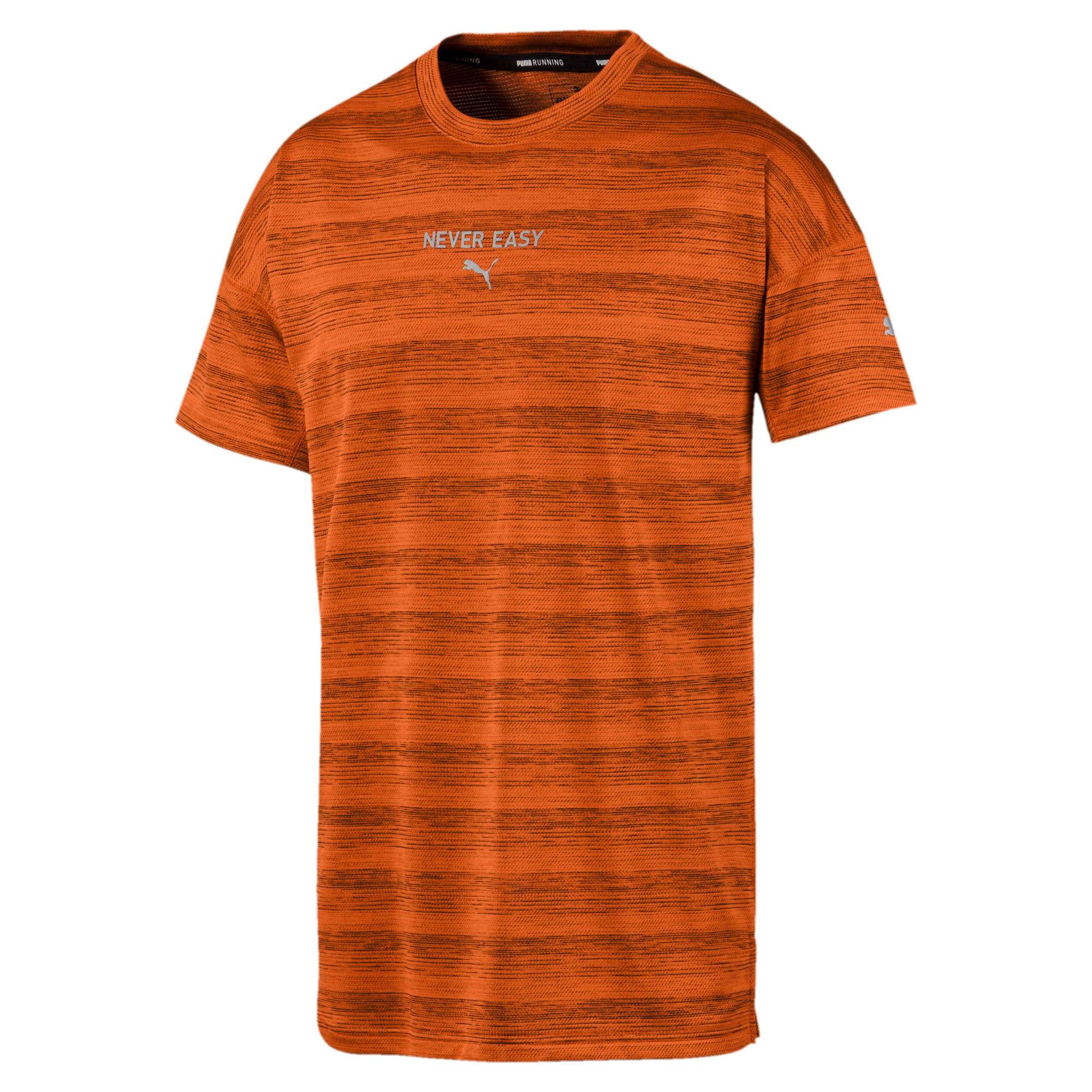 Thumbnail 4 of LastLap Heather Men's Tee, Jaffa Orange Heather, medium