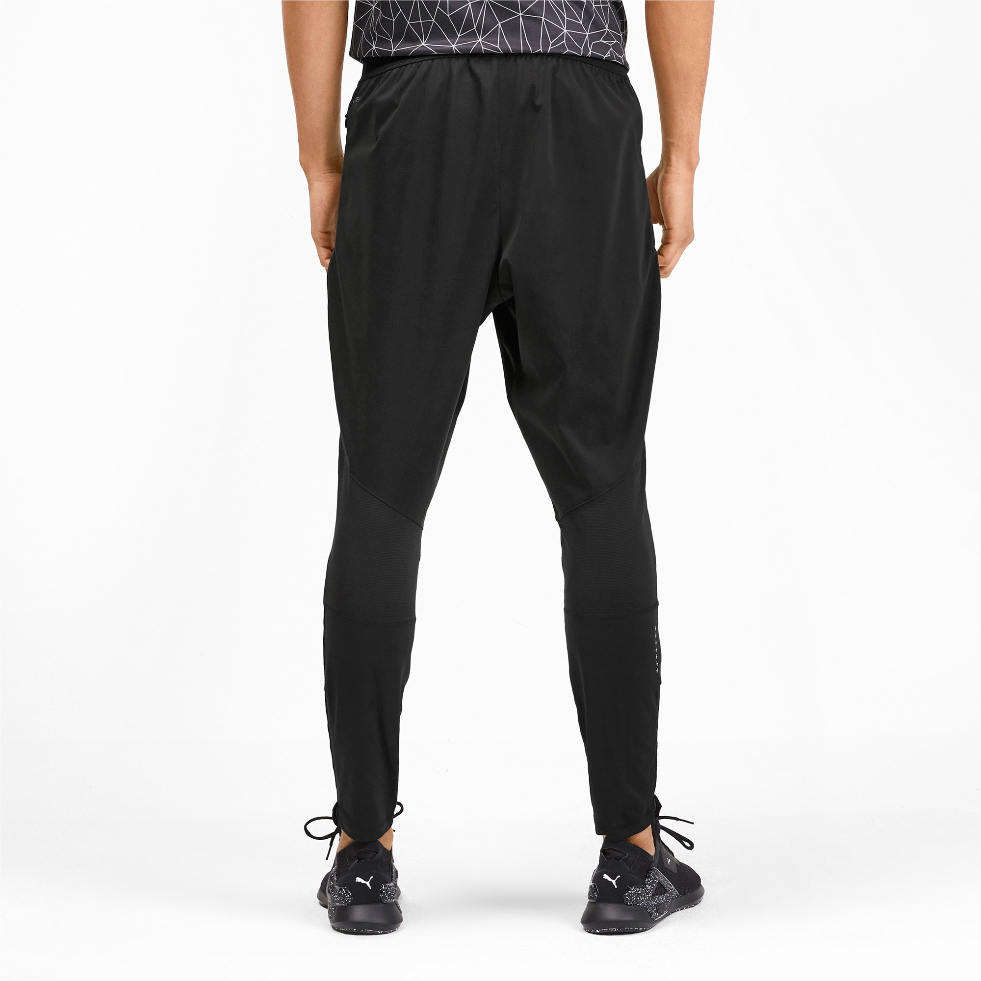 Thumbnail 2 of Get Fast Excite Herren Running Gewebte Hose, Puma Black, medium