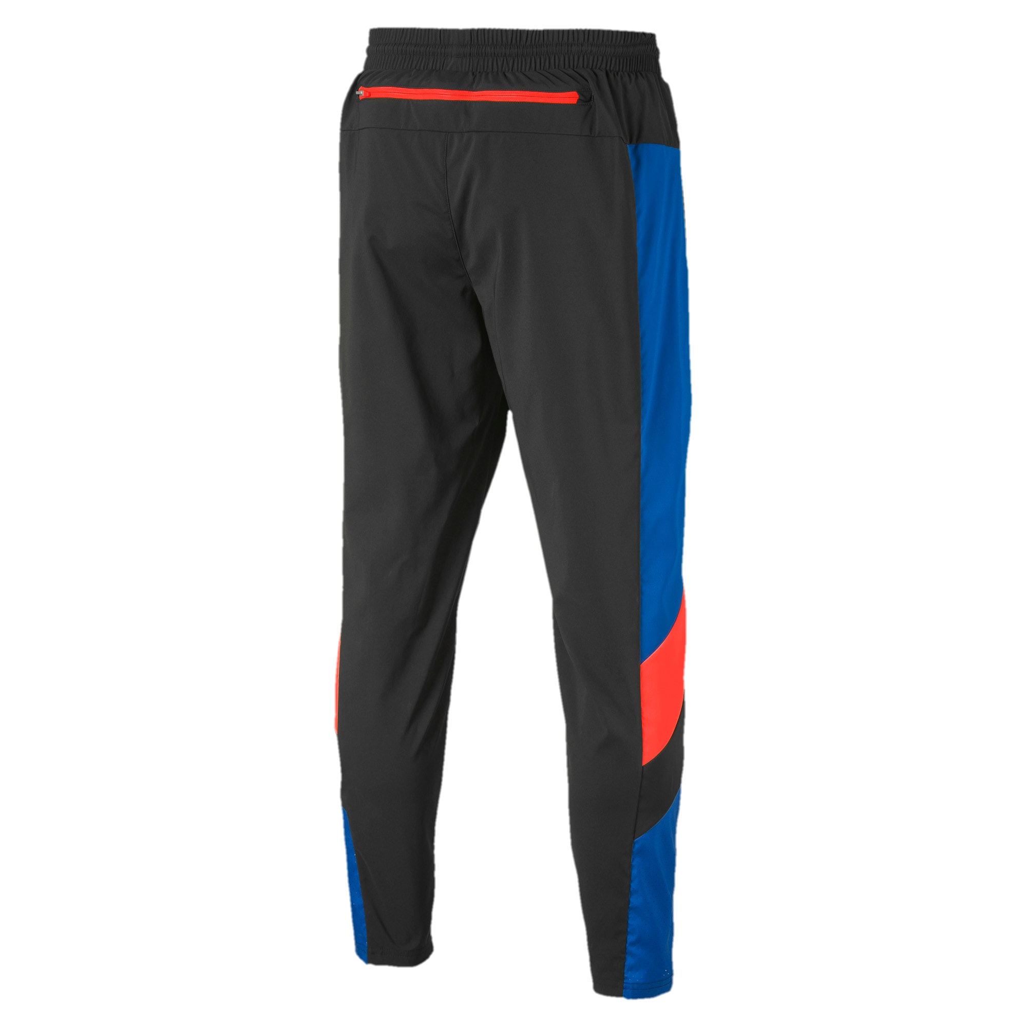Reactive Packable Men's Training Pants, Black-Galaxy-Nrgy Red, large