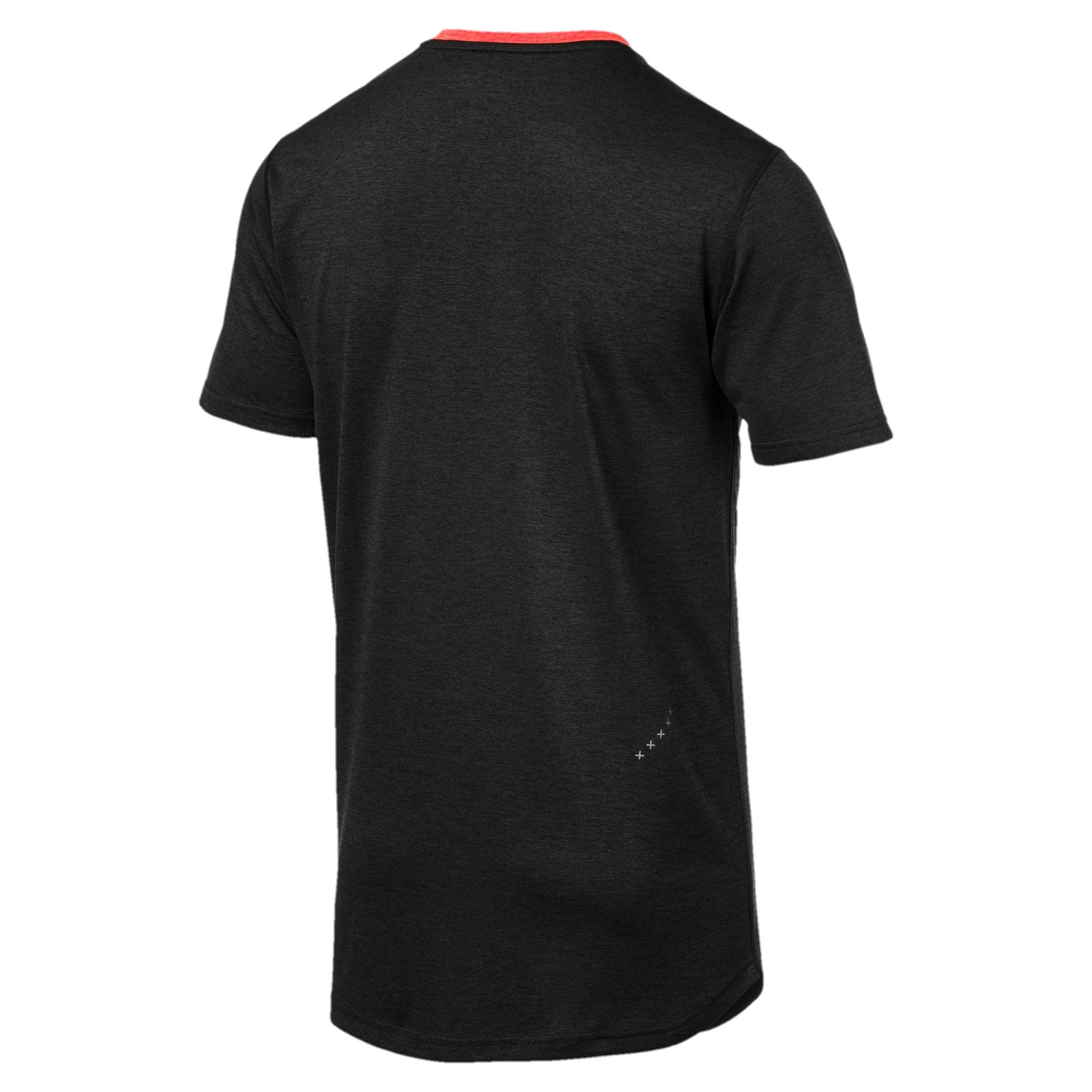 Thumbnail 5 of Gemêleerd IGNITE T-shirt met slogan voor heren, Puma Black Heather, medium