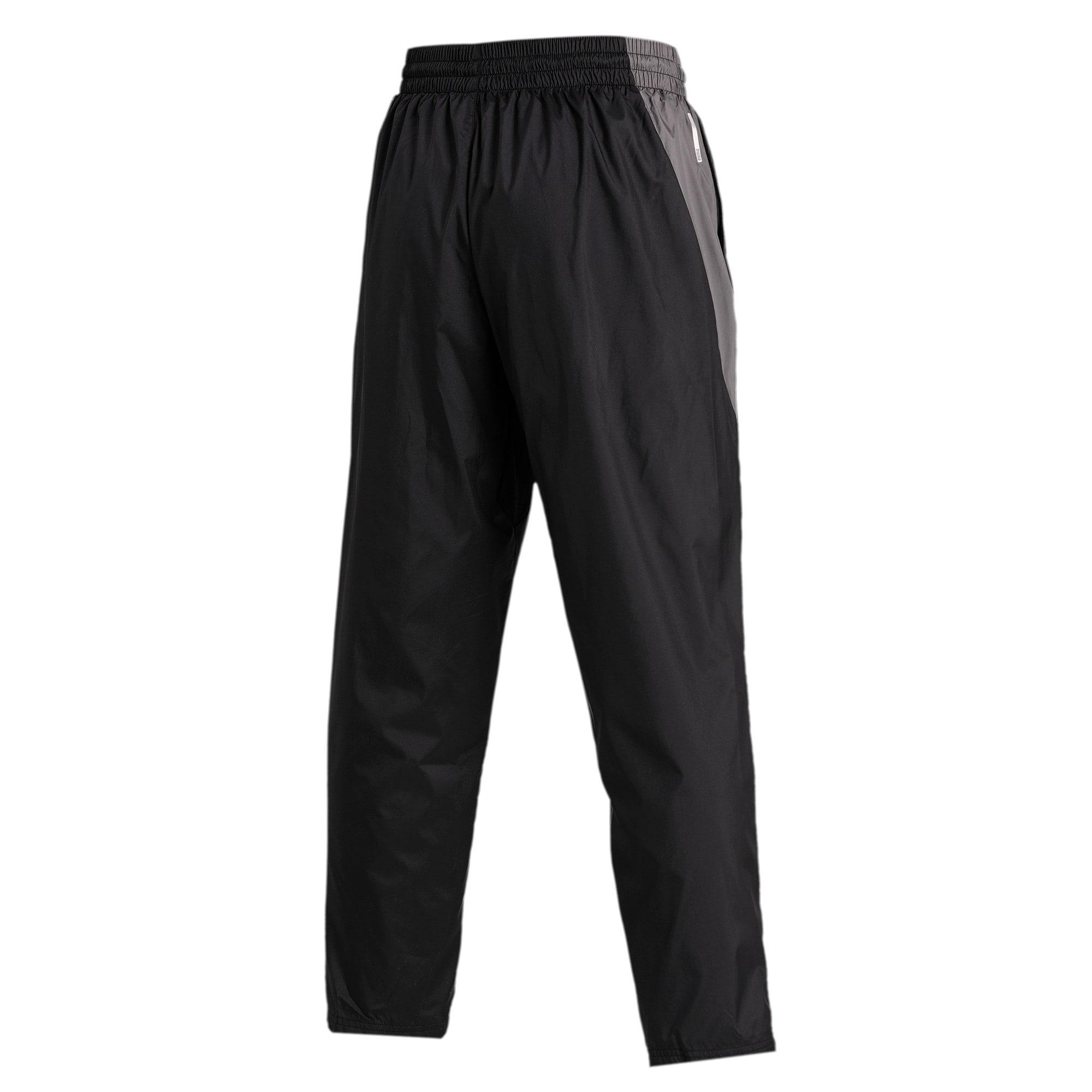 Thumbnail 5 of Reactive Woven Men's Training Pants, Puma Black-CASTLEROCK, medium-IND
