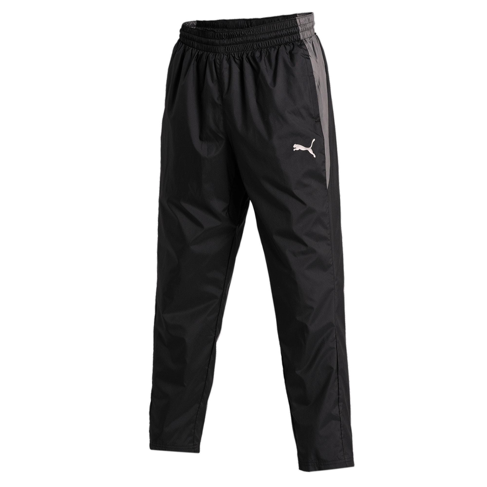 Thumbnail 4 of Reactive Woven Men's Training Pants, Puma Black-CASTLEROCK, medium-IND