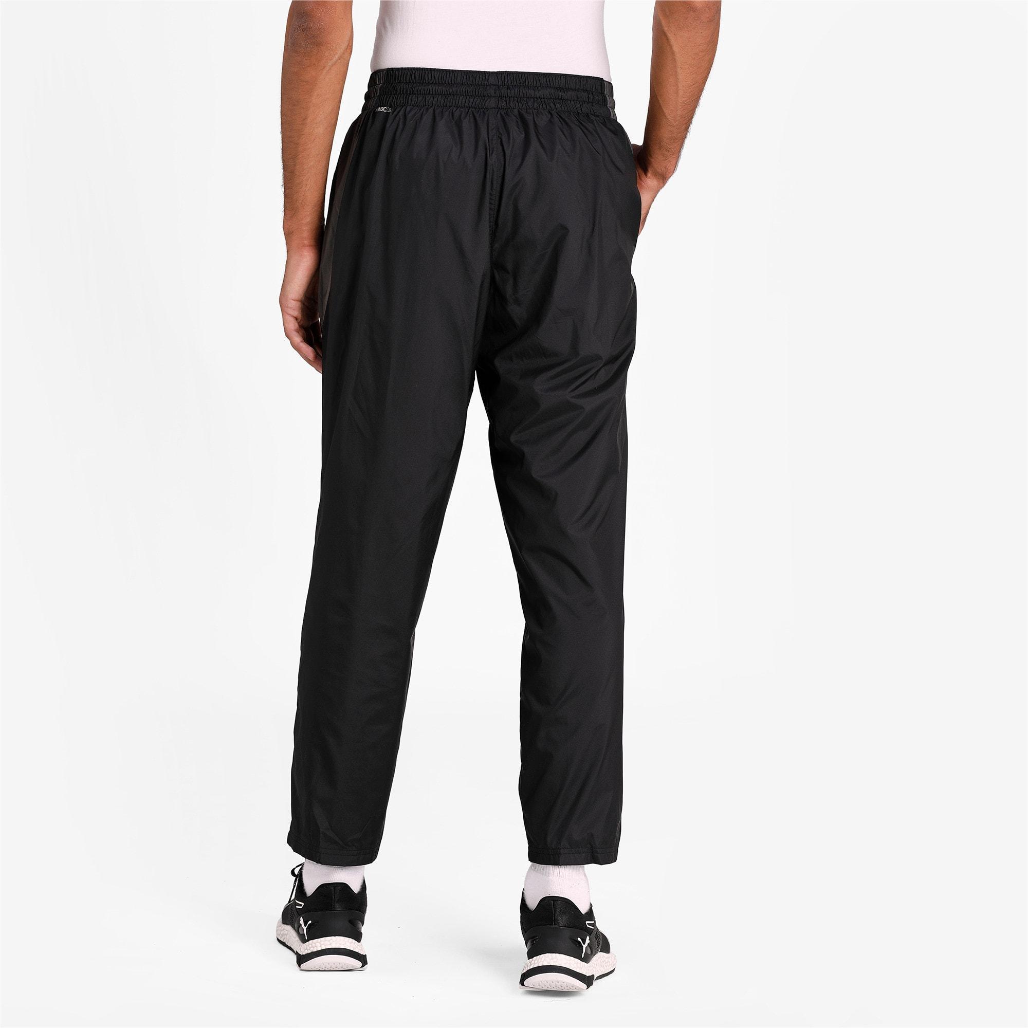 Thumbnail 2 of Reactive Woven Men's Training Pants, Puma Black-CASTLEROCK, medium-IND