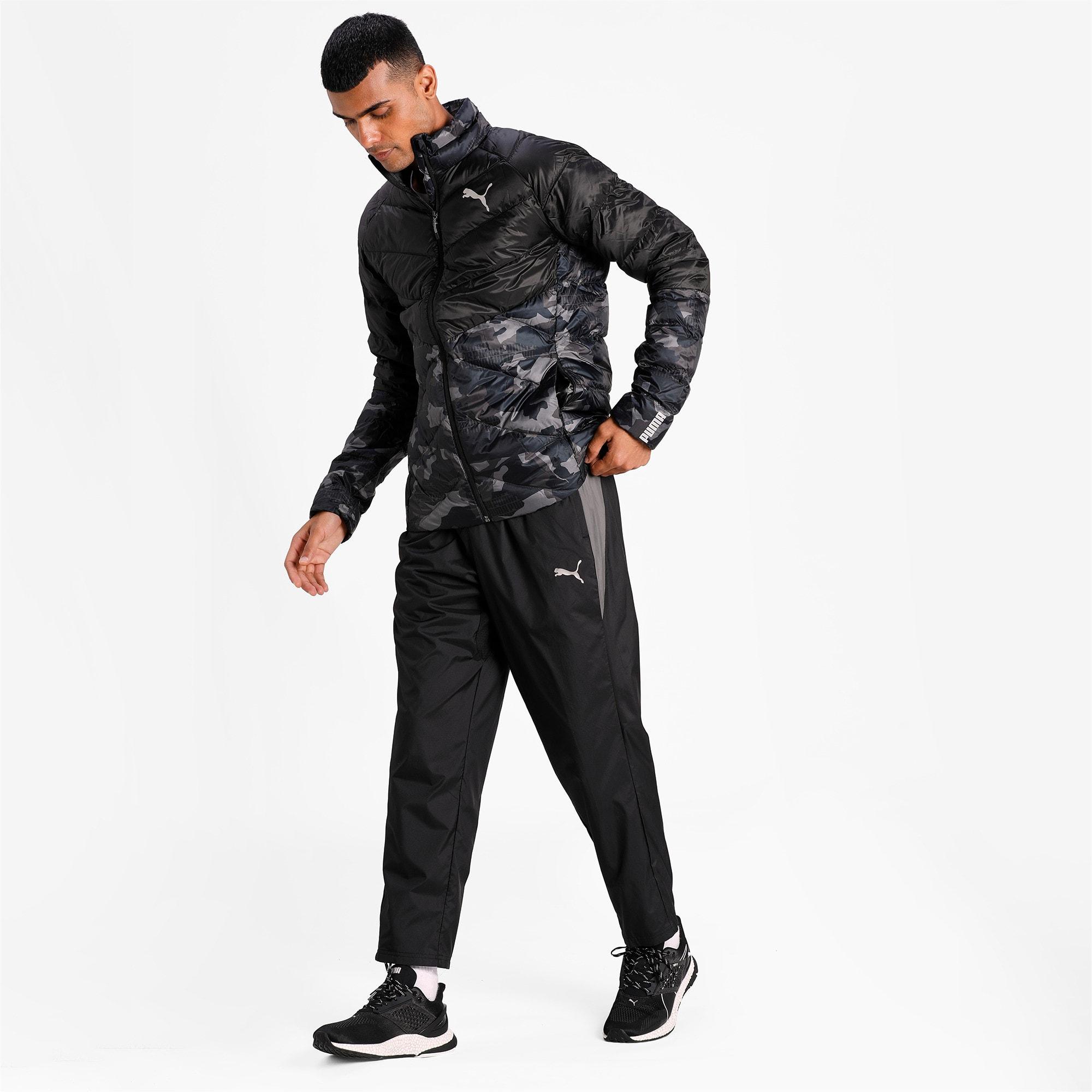 Thumbnail 3 of Reactive Woven Men's Training Pants, Puma Black-CASTLEROCK, medium-IND