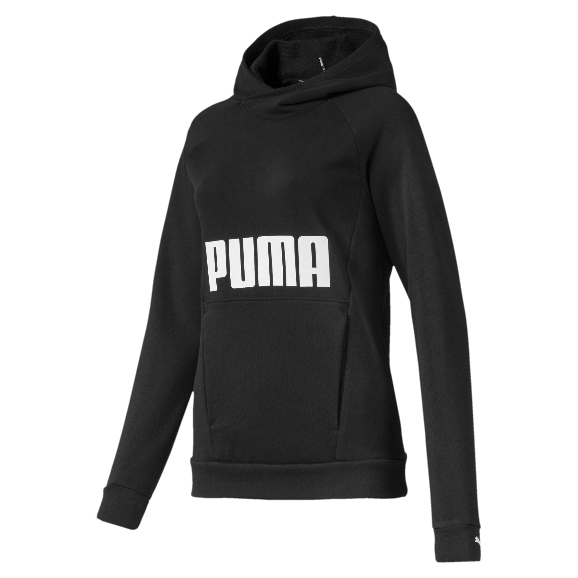 Thumbnail 4 of Fav Women's Training Hoodie, Puma Black, medium-IND