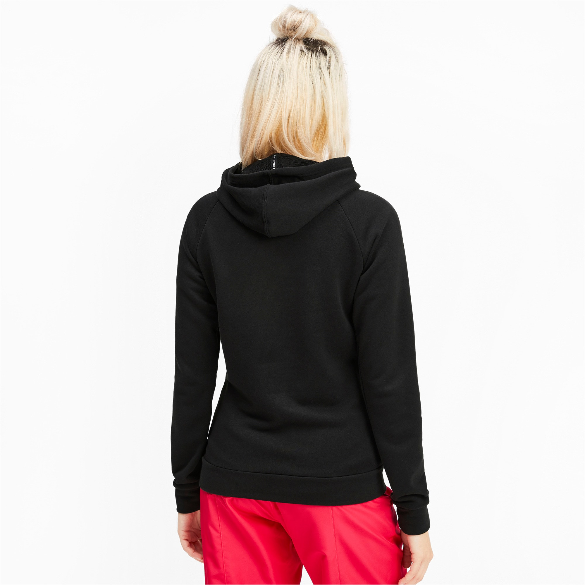 Thumbnail 2 of Fav Women's Training Hoodie, Puma Black, medium-IND