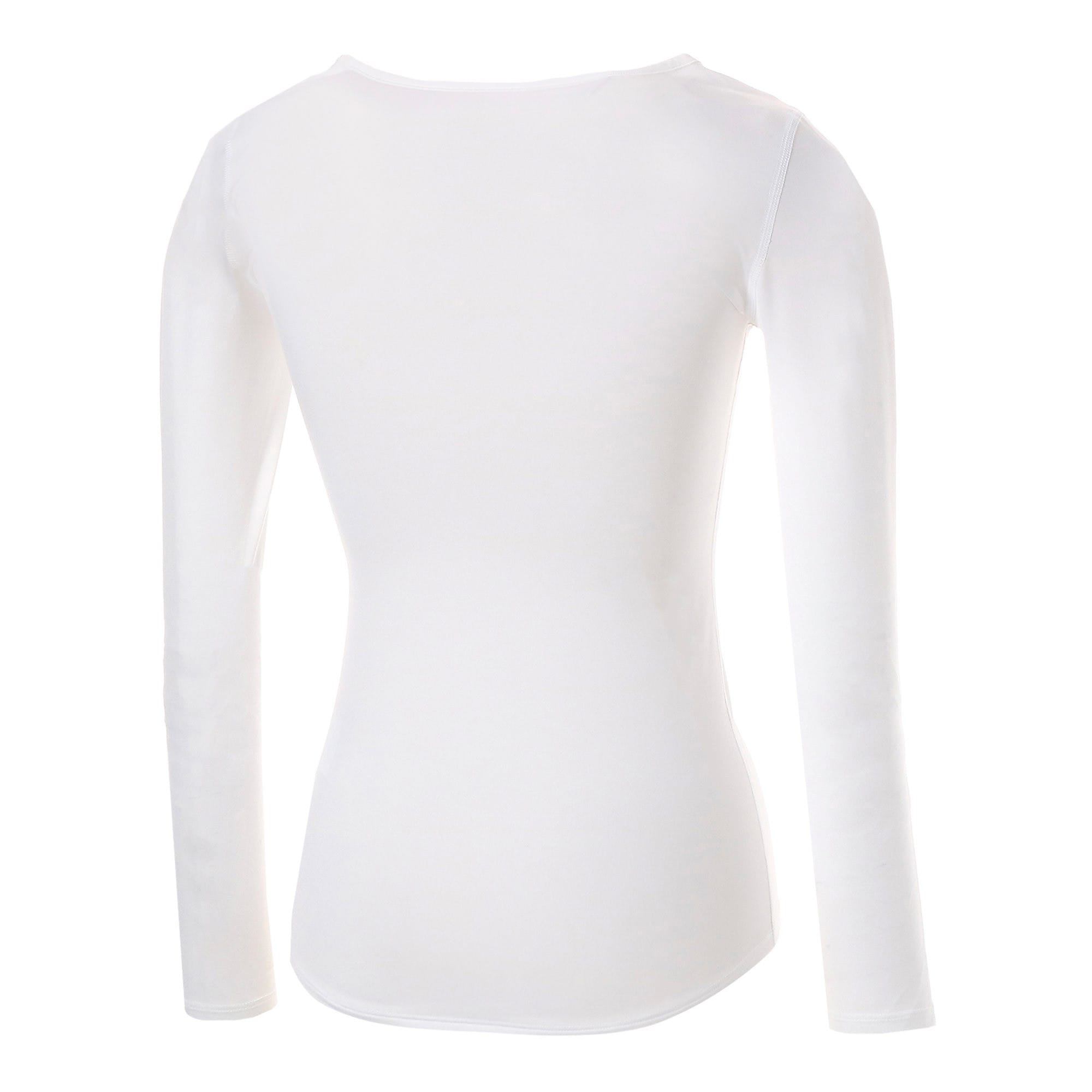 Thumbnail 3 of テック ライト LS ウィメンズ トレーニング Tシャツ 長袖, Puma White, medium-JPN