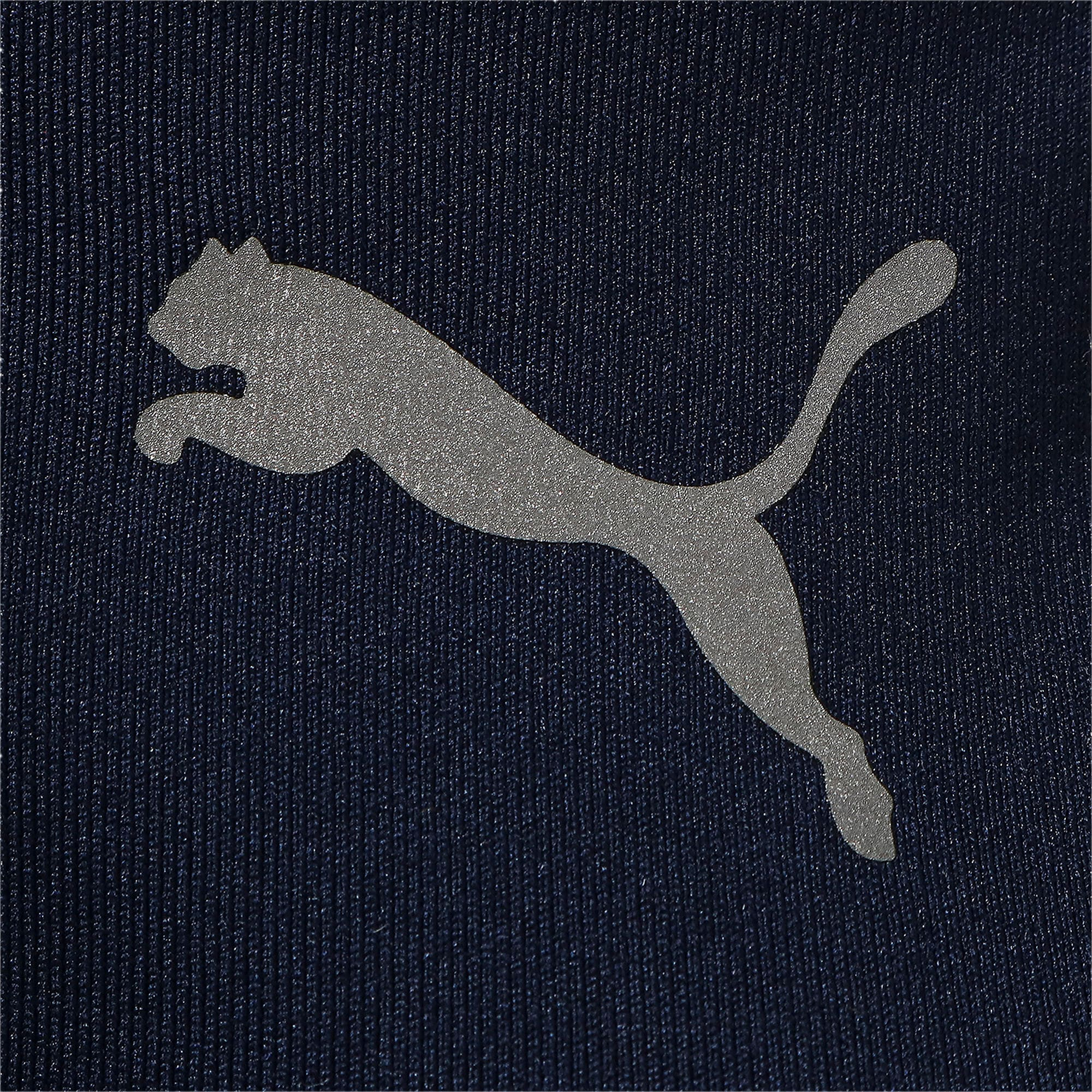 Thumbnail 4 of テック ライト LSモックネック ウィメンズ トレーニング Tシャツ 長袖, Peacoat, medium-JPN