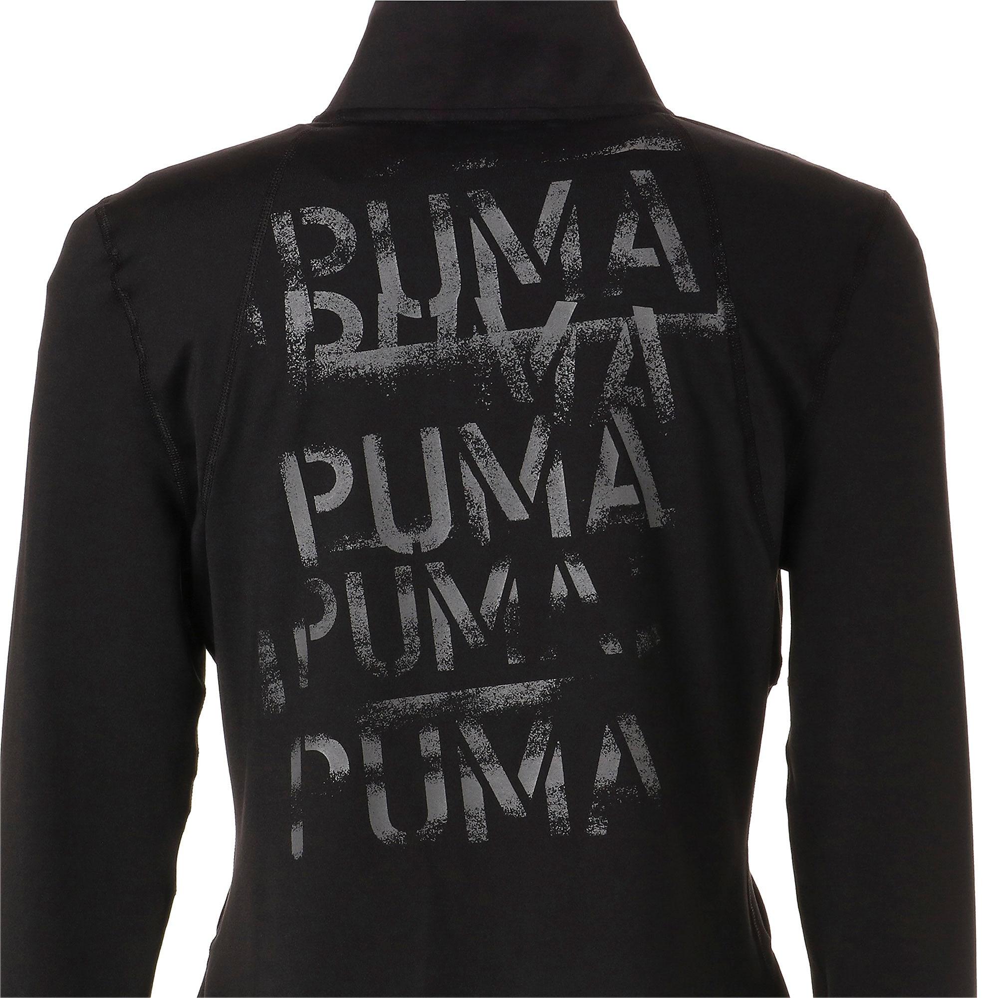 Thumbnail 11 of スタジオ ウィメンズ トレーニング ニット ジャケット, Puma Black, medium-JPN