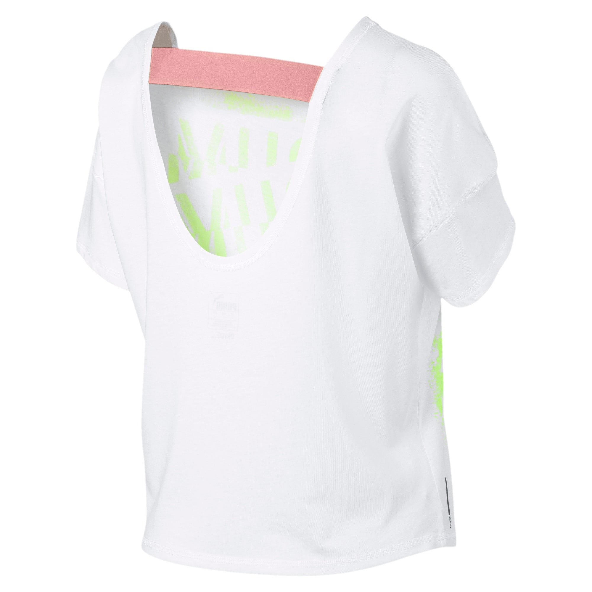 Thumbnail 6 of フィール イット SS ウィメンズ トレーニング Tシャツ 半袖, Puma White, medium-JPN