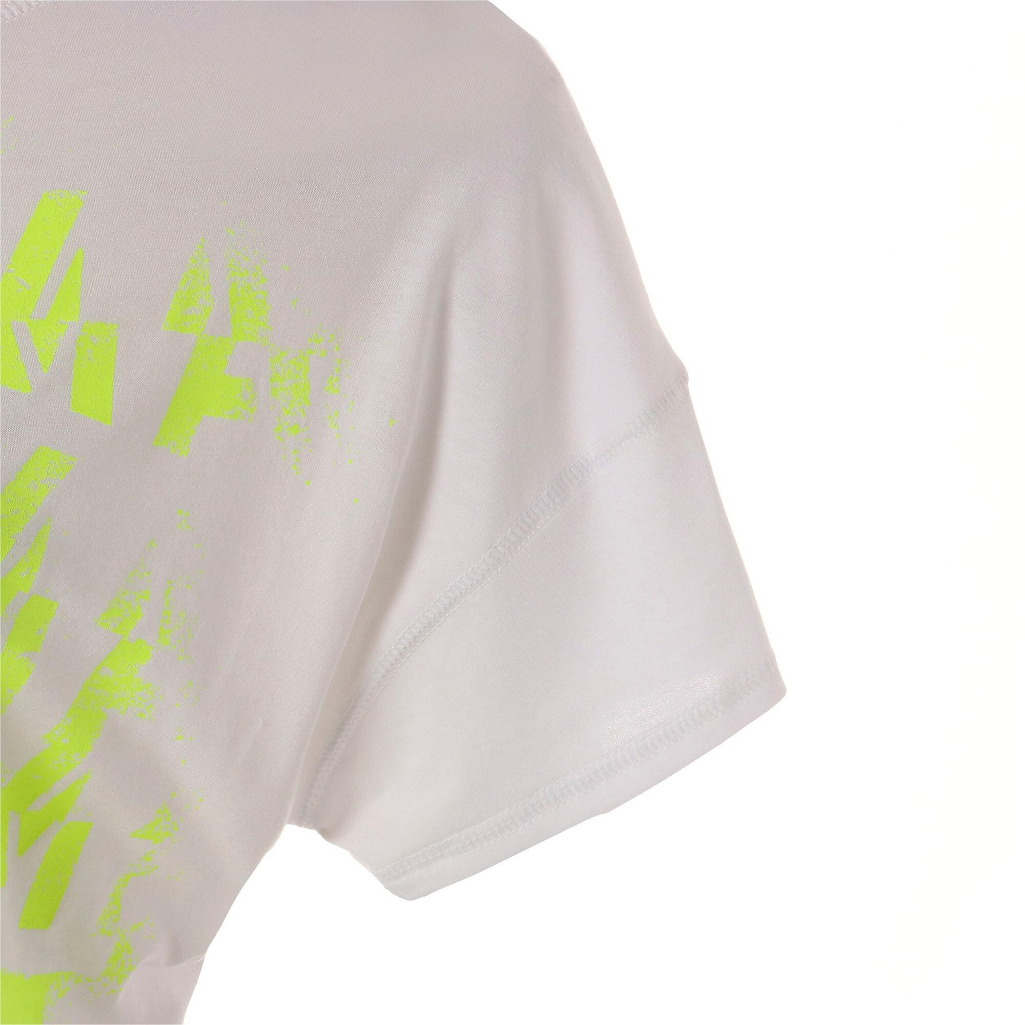 Thumbnail 8 of フィール イット SS ウィメンズ トレーニング Tシャツ 半袖, Puma White, medium-JPN