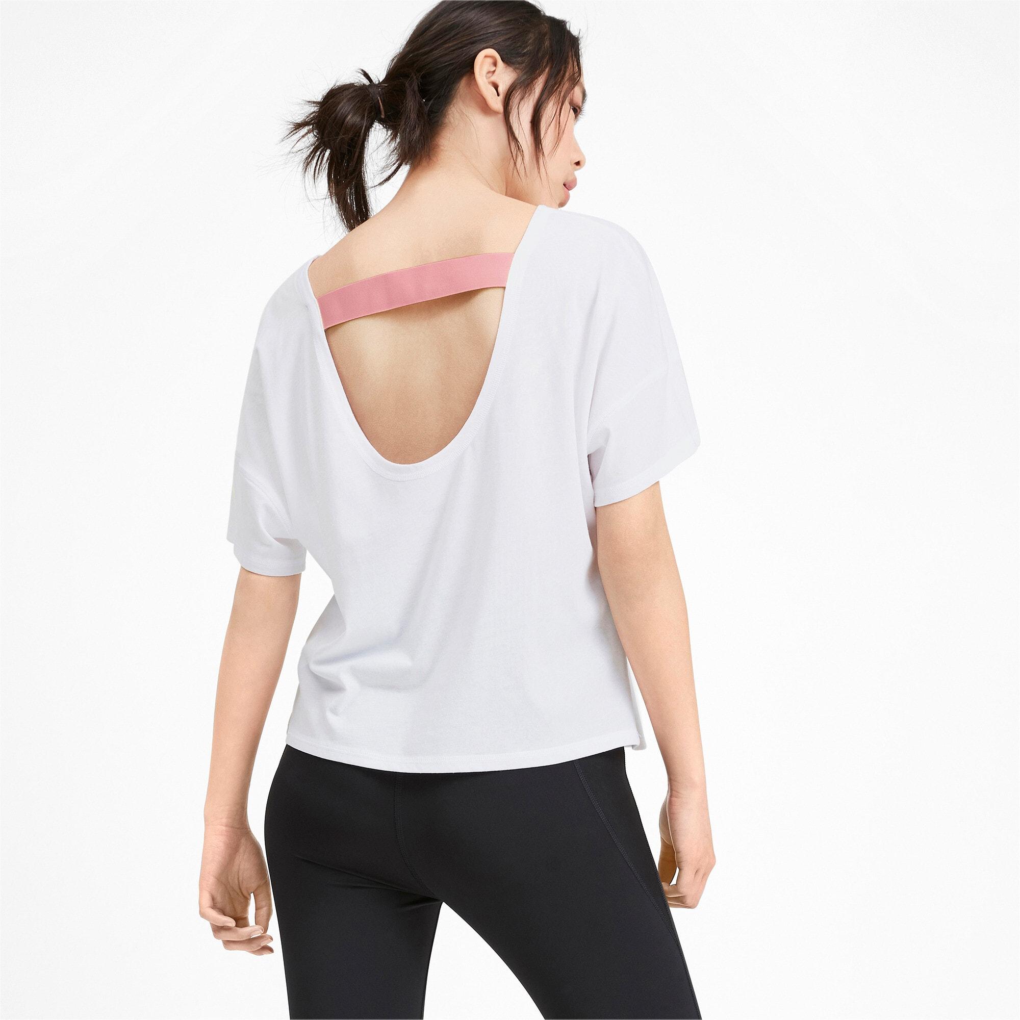 Thumbnail 2 of フィール イット SS ウィメンズ トレーニング Tシャツ 半袖, Puma White, medium-JPN