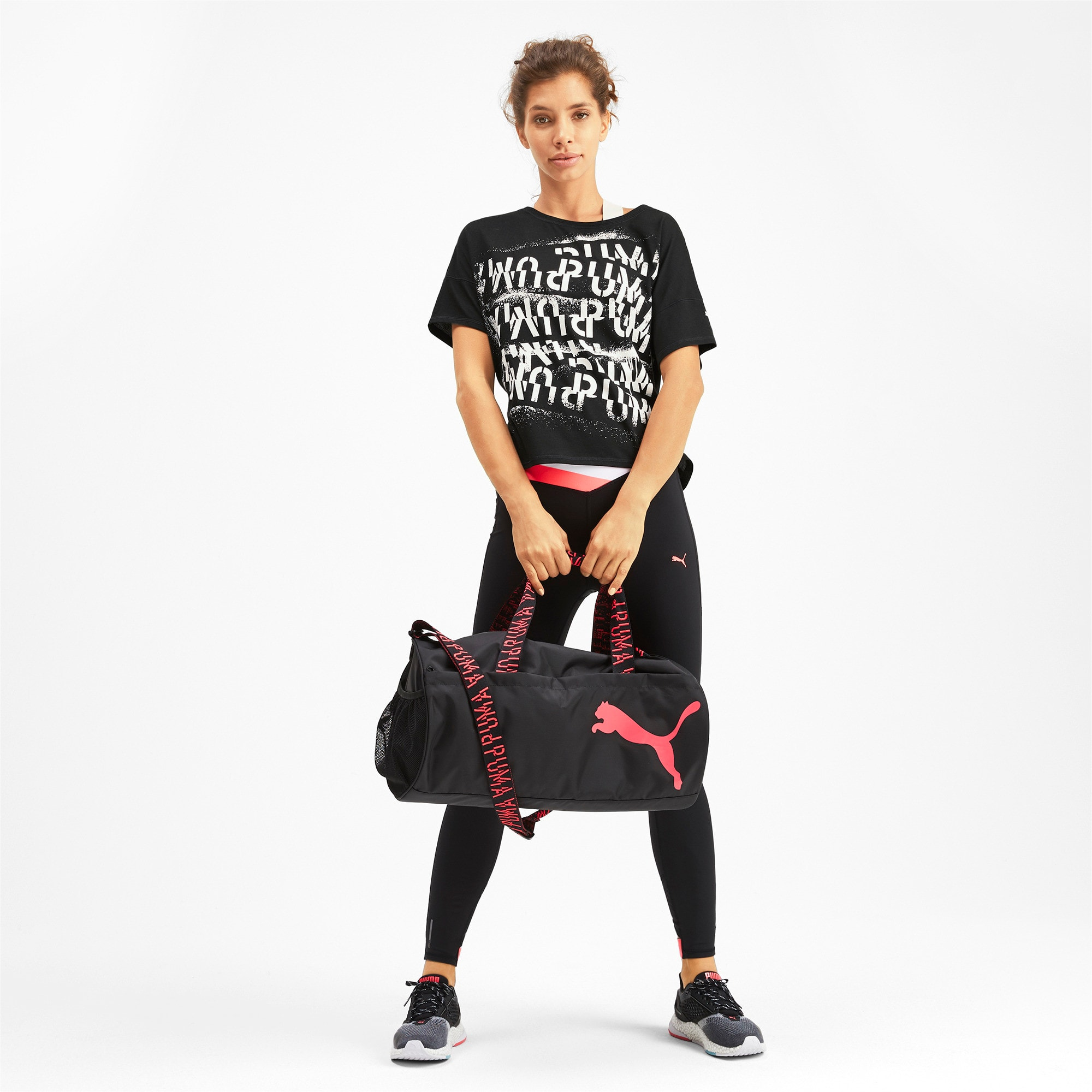 Thumbnail 4 of フィール イット SS ウィメンズ トレーニング Tシャツ 半袖, Puma Black, medium-JPN