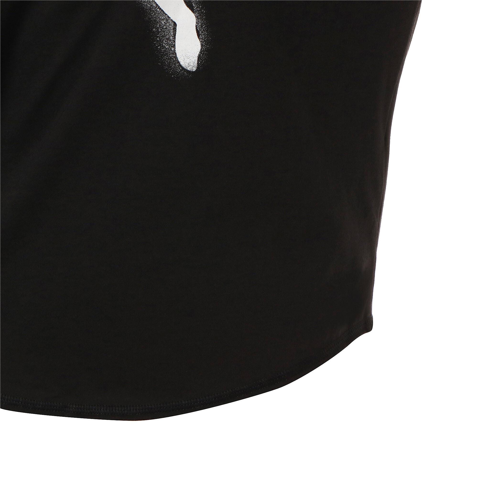 Thumbnail 9 of スタジオ SS ウィメンズ トレーニング メッシュ キャット Tシャツ 半袖, Puma Black-Yellow Alert, medium-JPN