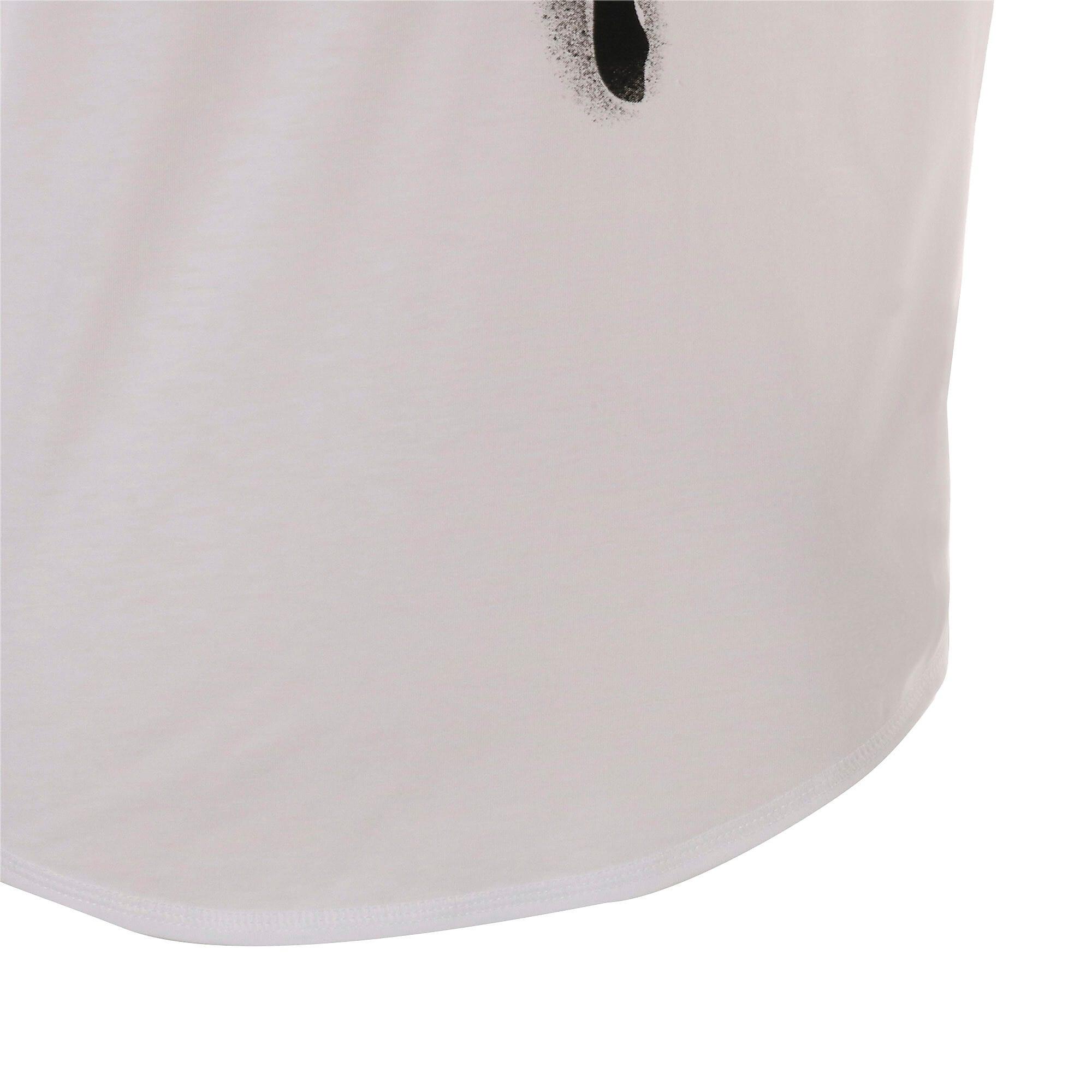 Thumbnail 9 of スタジオ SS ウィメンズ トレーニング メッシュ キャット Tシャツ 半袖, Puma White, medium-JPN
