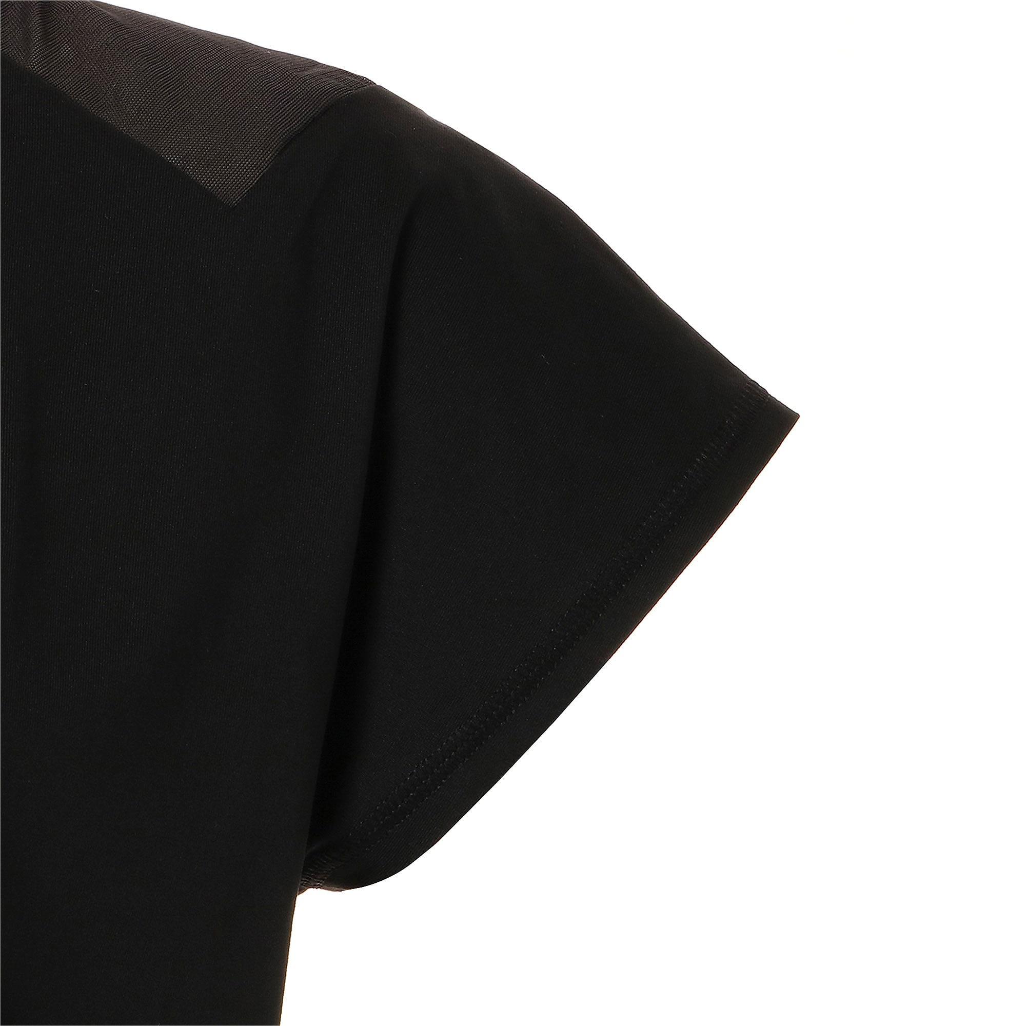Thumbnail 8 of スタジオ SS メッシュ ウィメンズ トレーニング Tシャツ 半袖, Puma Black, medium-JPN