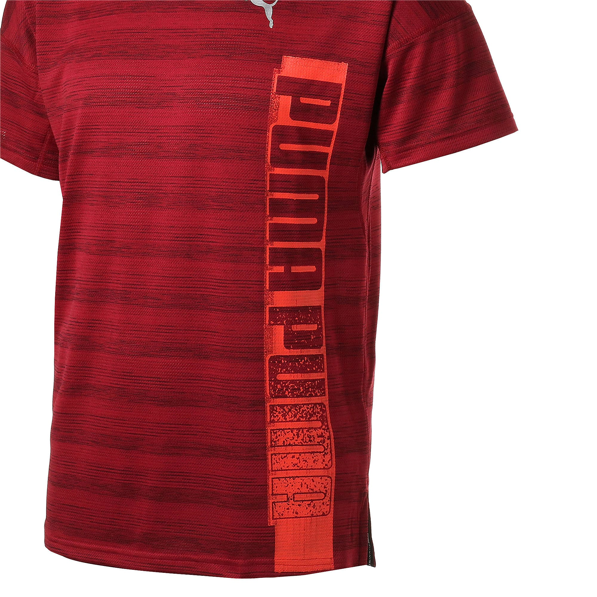 Thumbnail 10 of LAST LAP ヘザー SS ランニング Tシャツ 半袖, Rhubarb Heather, medium-JPN