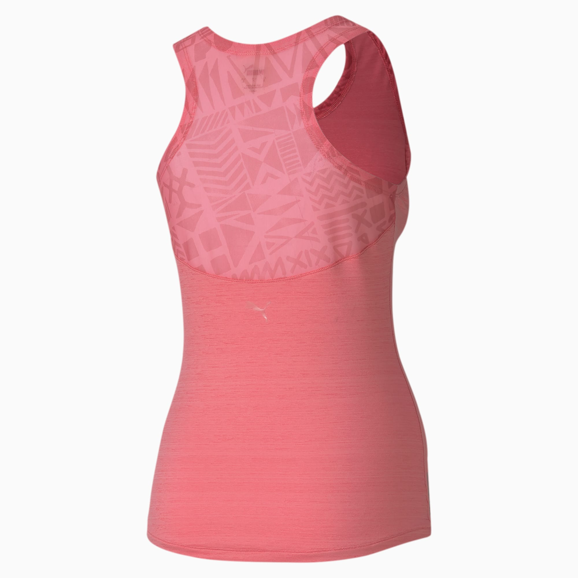 Studio Graphic Mesh Damen Training Tank Top | Bubblegum