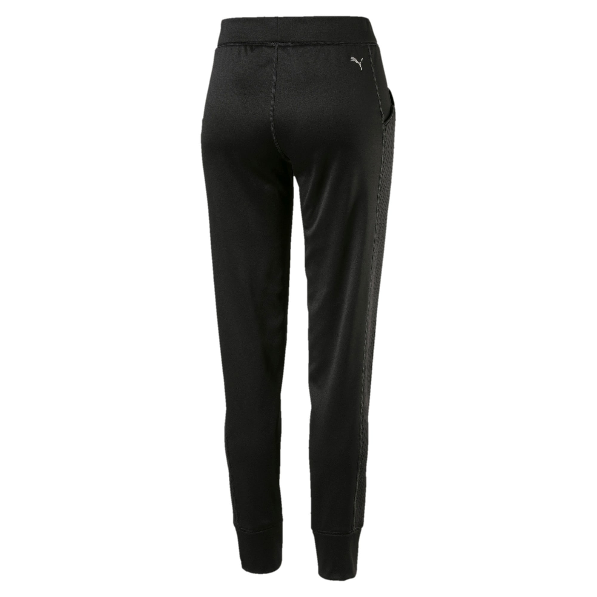 Thumbnail 2 of After Glow Fleece Women's Training Sweatpants, Puma Black, medium-IND