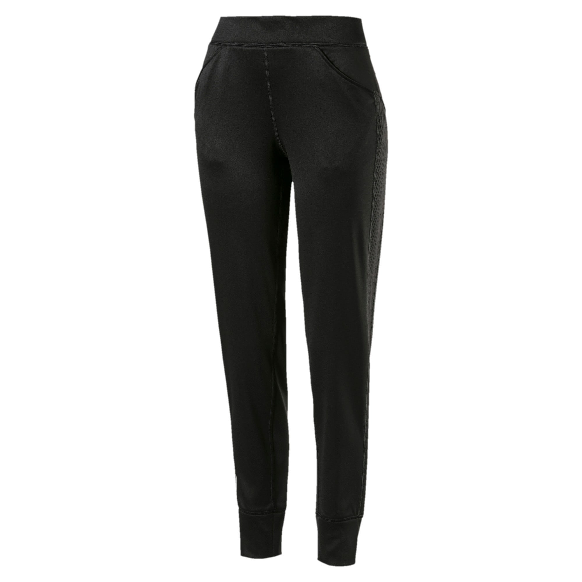 Thumbnail 1 of After Glow Fleece Women's Training Sweatpants, Puma Black, medium-IND