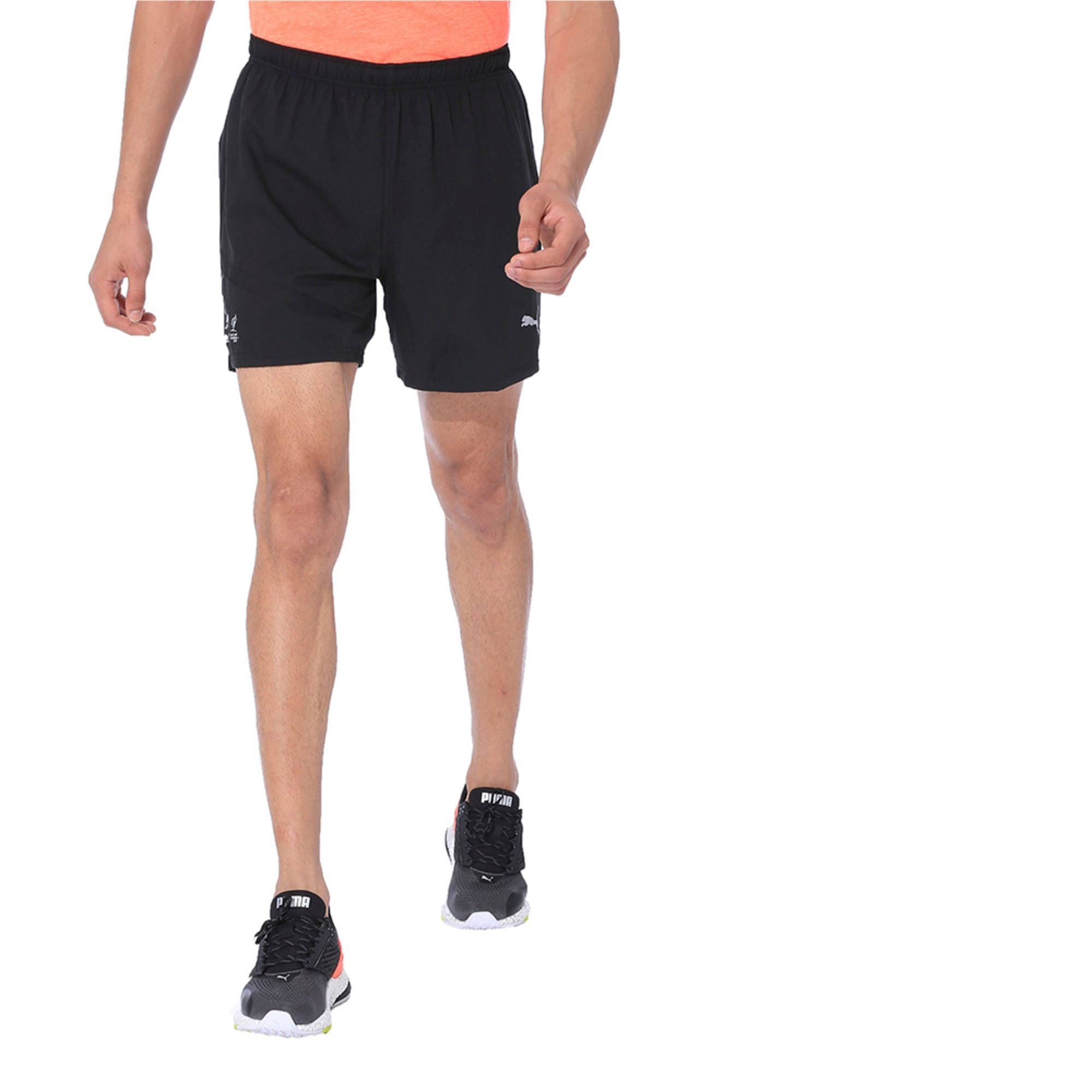 Thumbnail 3 of IGNITE Running Shorts, Puma Black, medium-IND